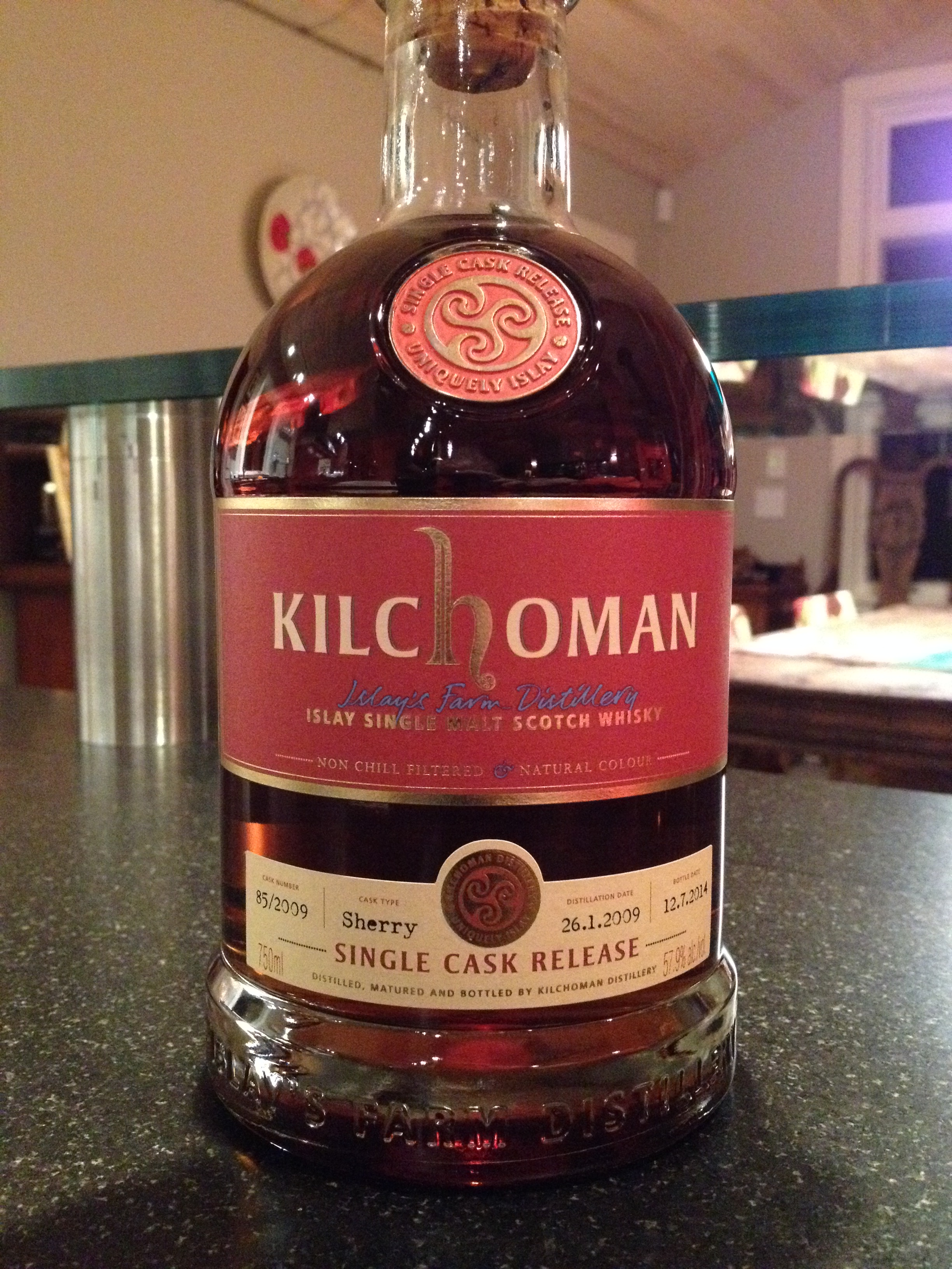 5 Year Old | 57.9% ABV - Distillery | Kilchoman