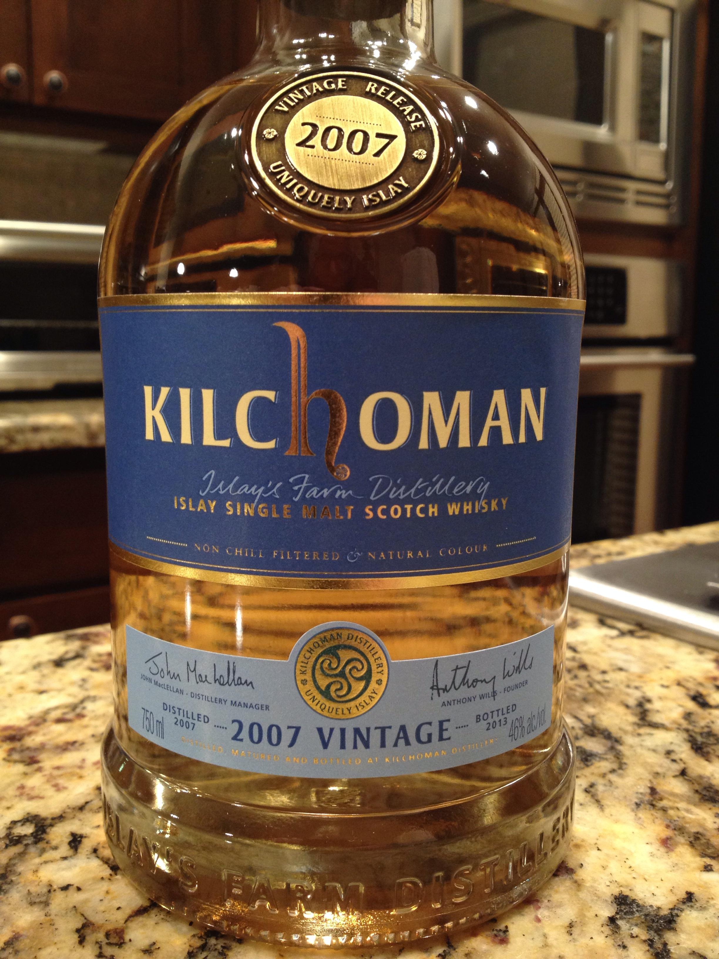 6 Year Old   46% ABV - Distillery   Kilchoman