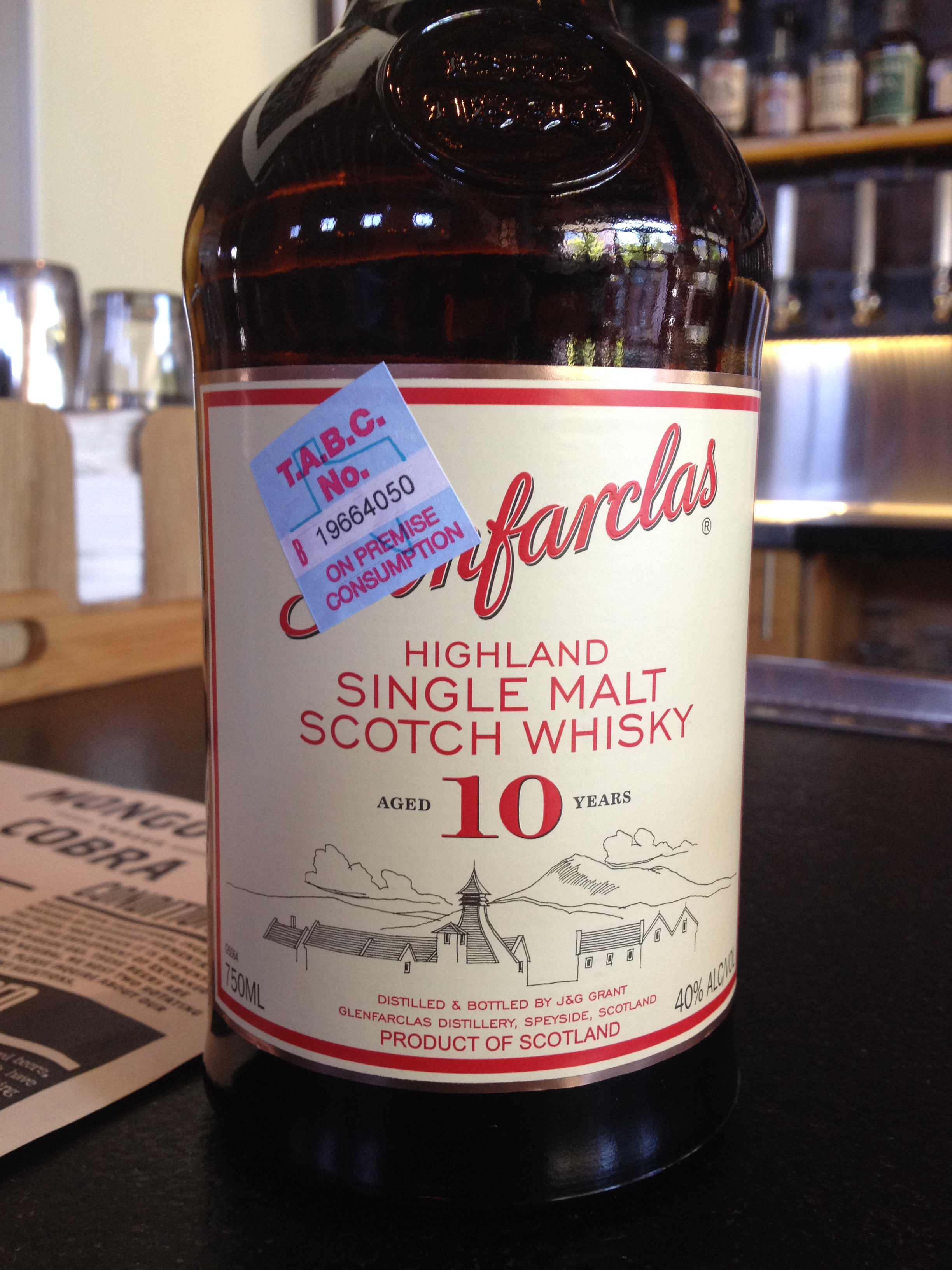 10 Year Old | 40% ABV - Distillery | Glenfarclas