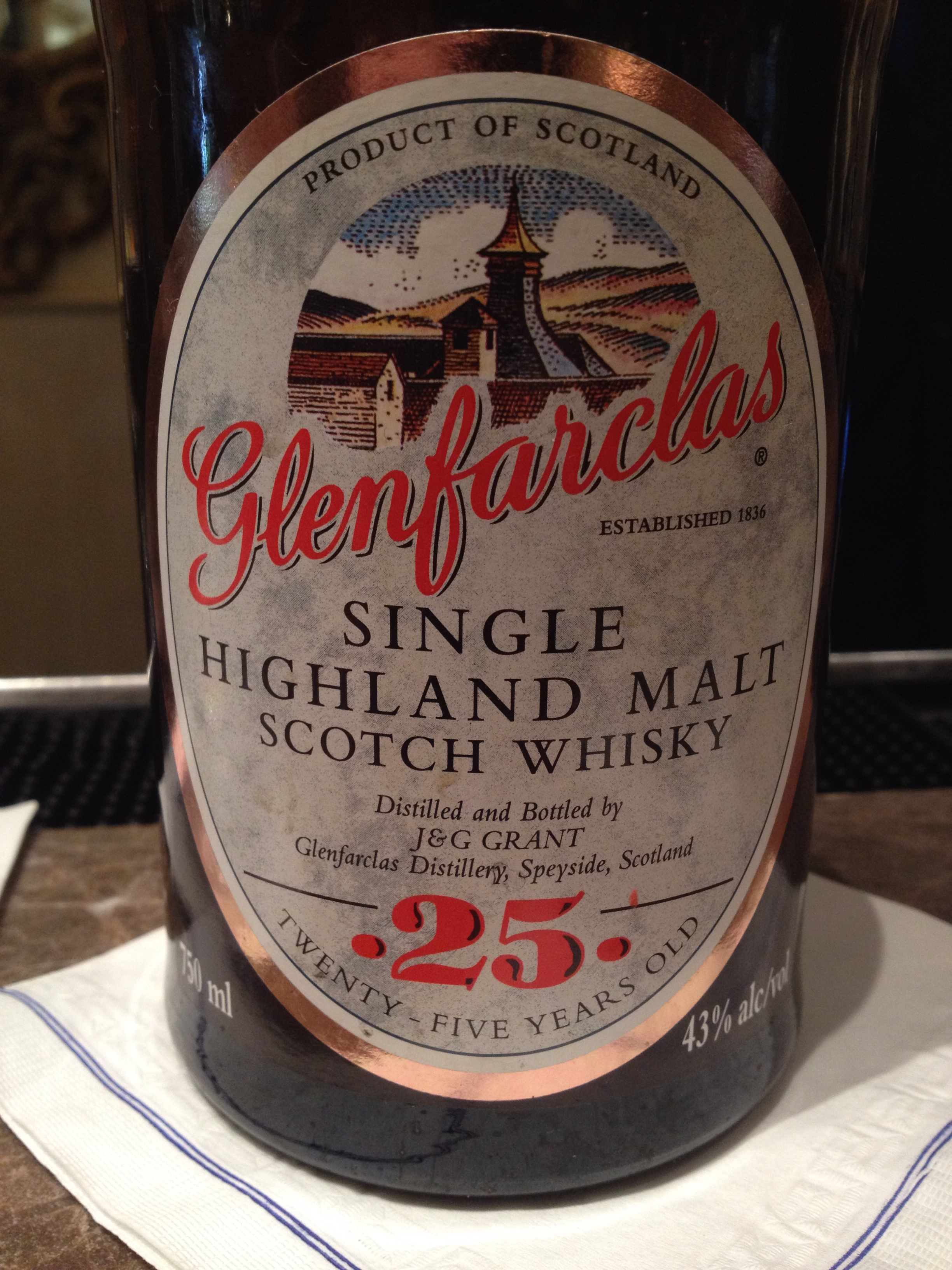 25 Year Old | 43% ABV - Distillery | Glenfarclas
