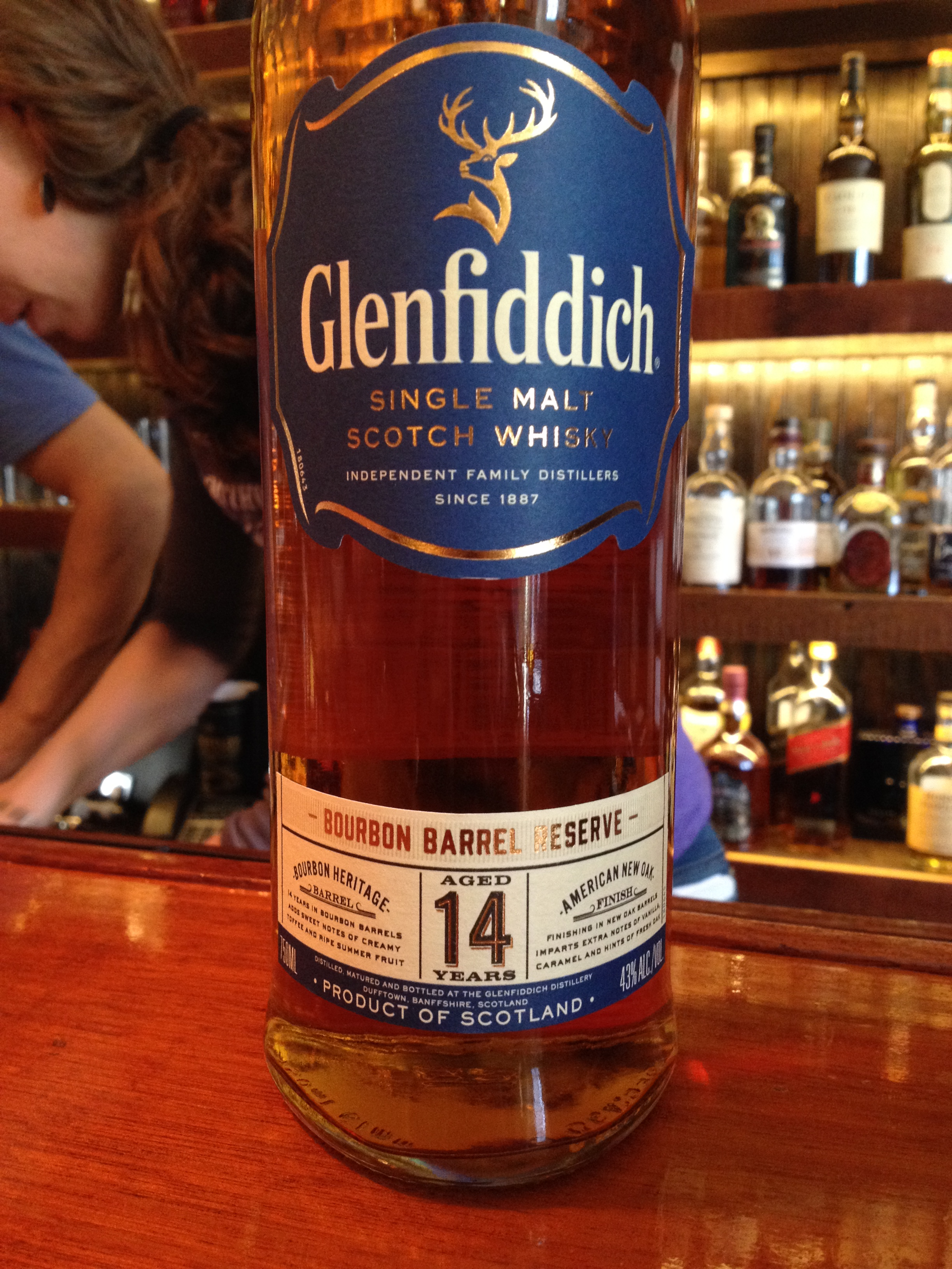 14 Year Old | 43% ABV - Distillery | Glenfiddich