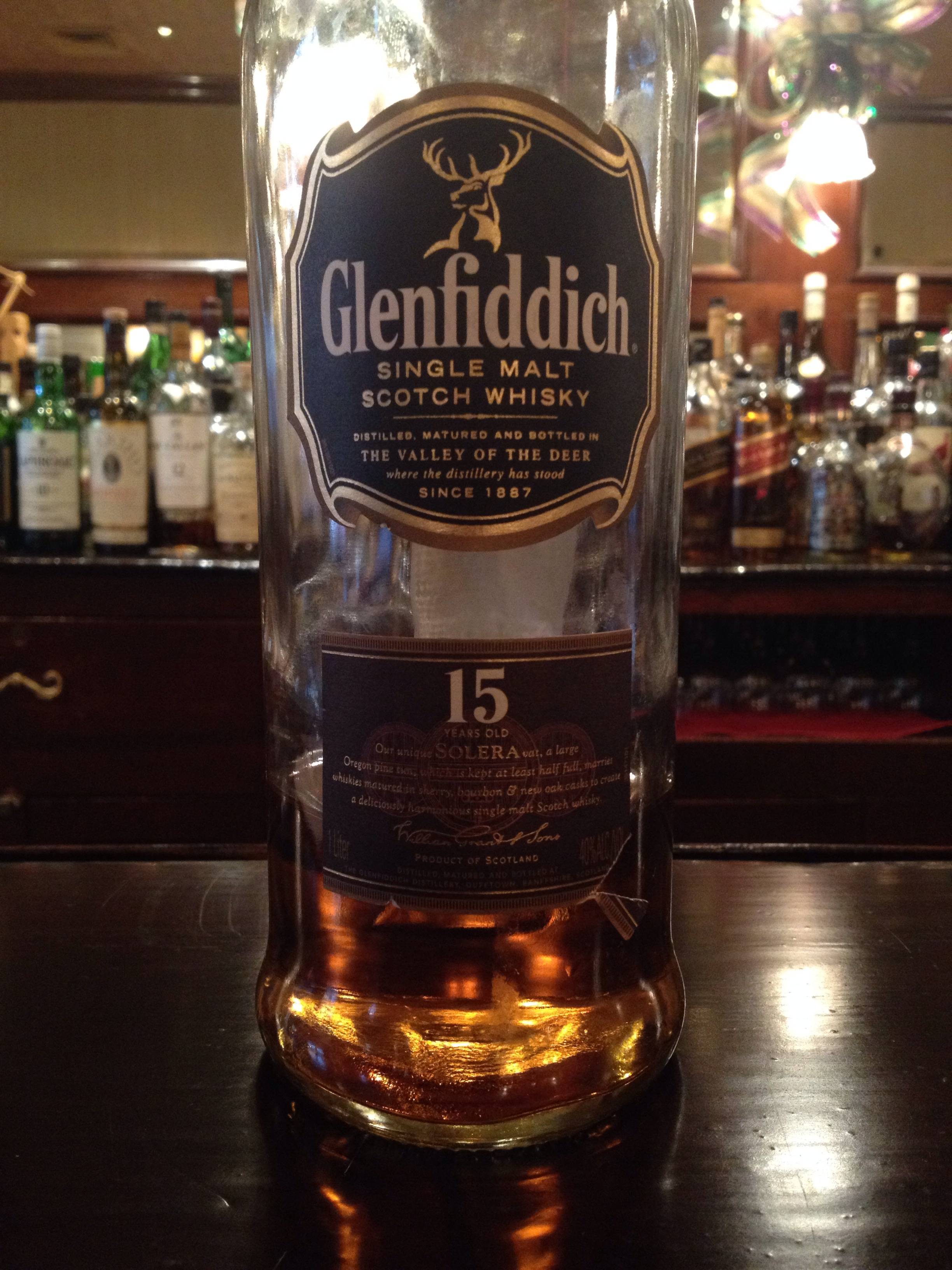 15 Year Old | 40% ABV - Distillery | Glenfiddich