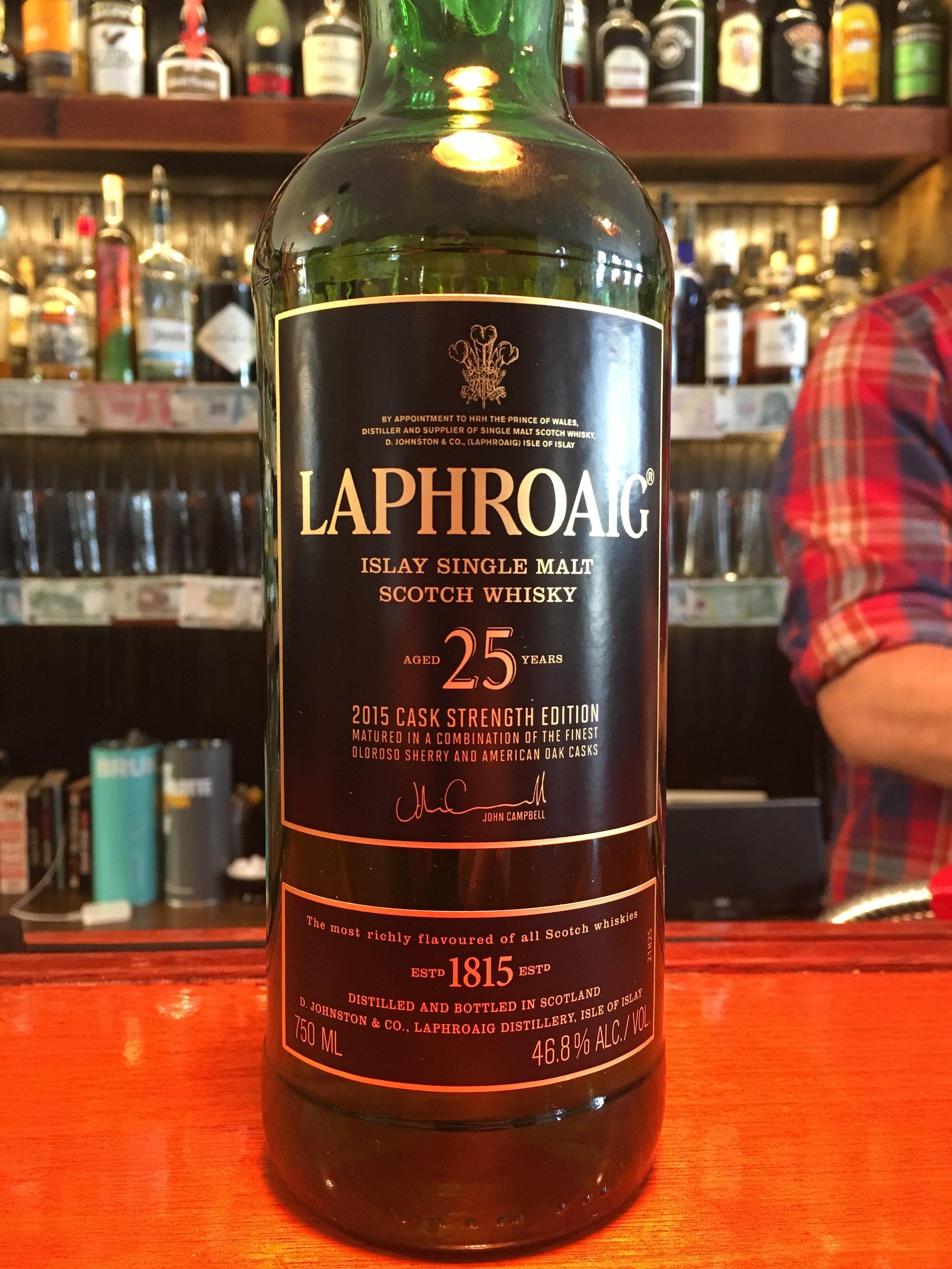 25 Year Old   46.8% ABV - Distillery   Laphroaig