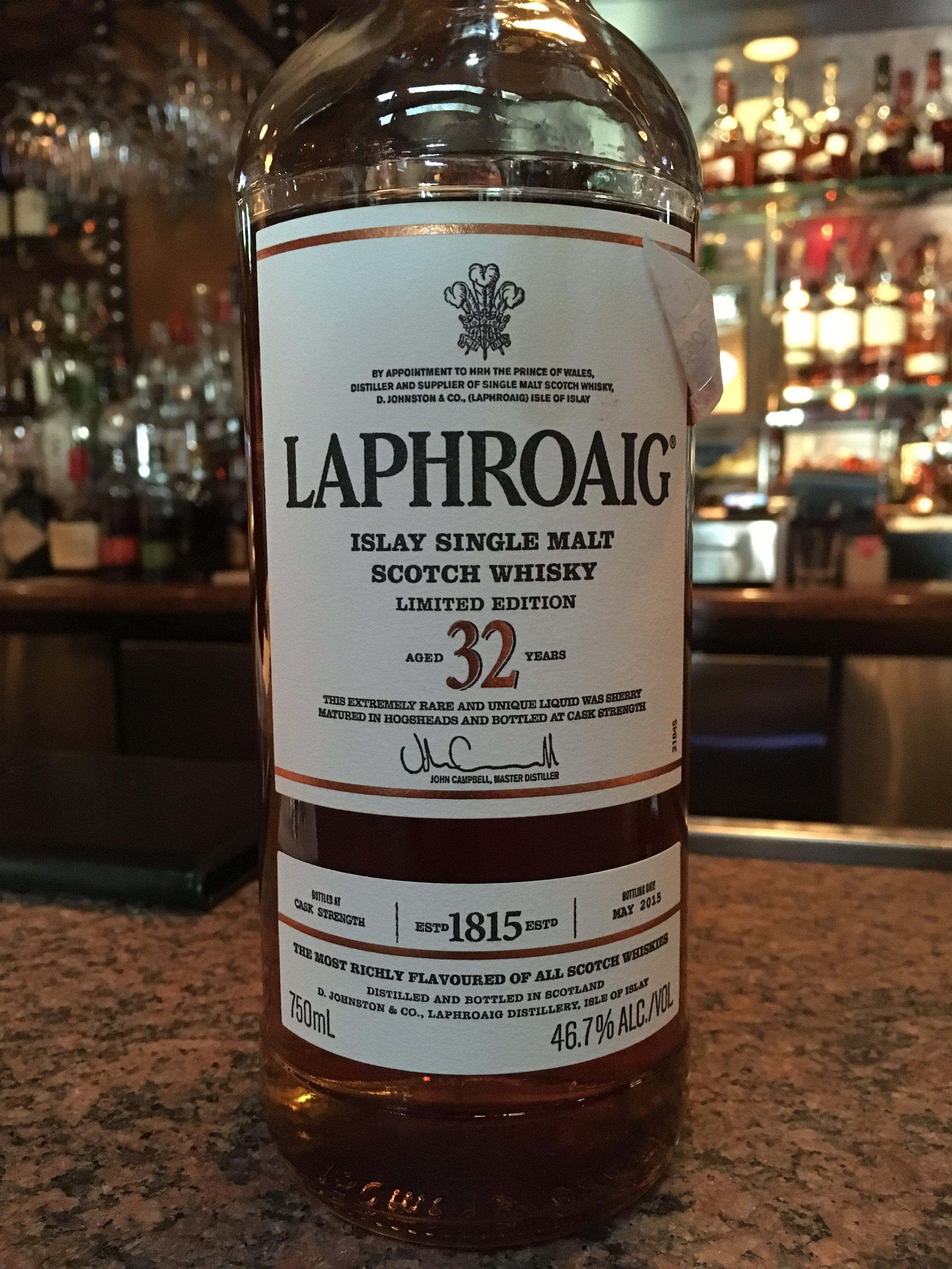 32 Year Old | 46.7% ABV - Distillery | Laphroaig