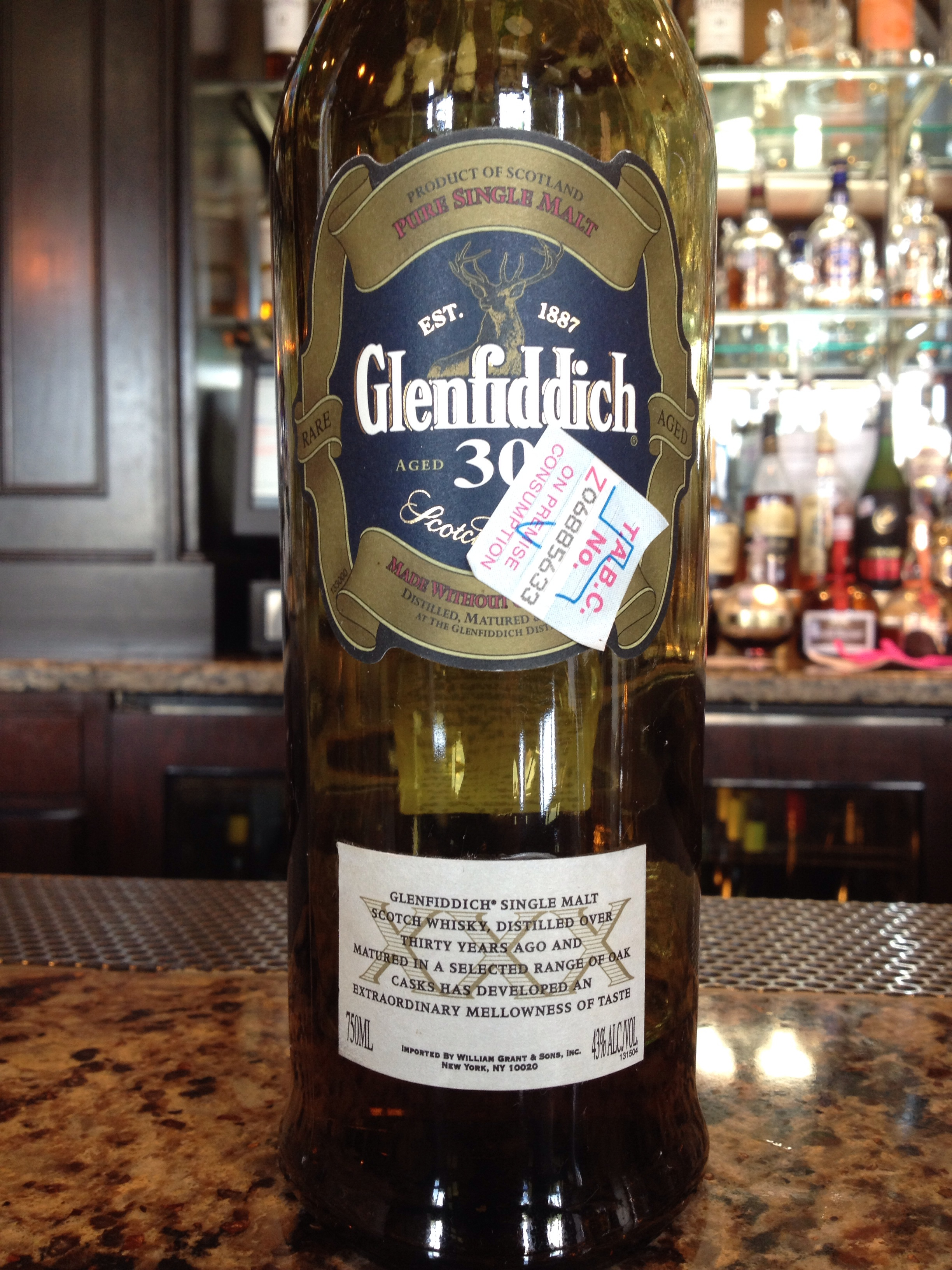 30 Year Old | 43% ABV - Distillery | Glenfiddich