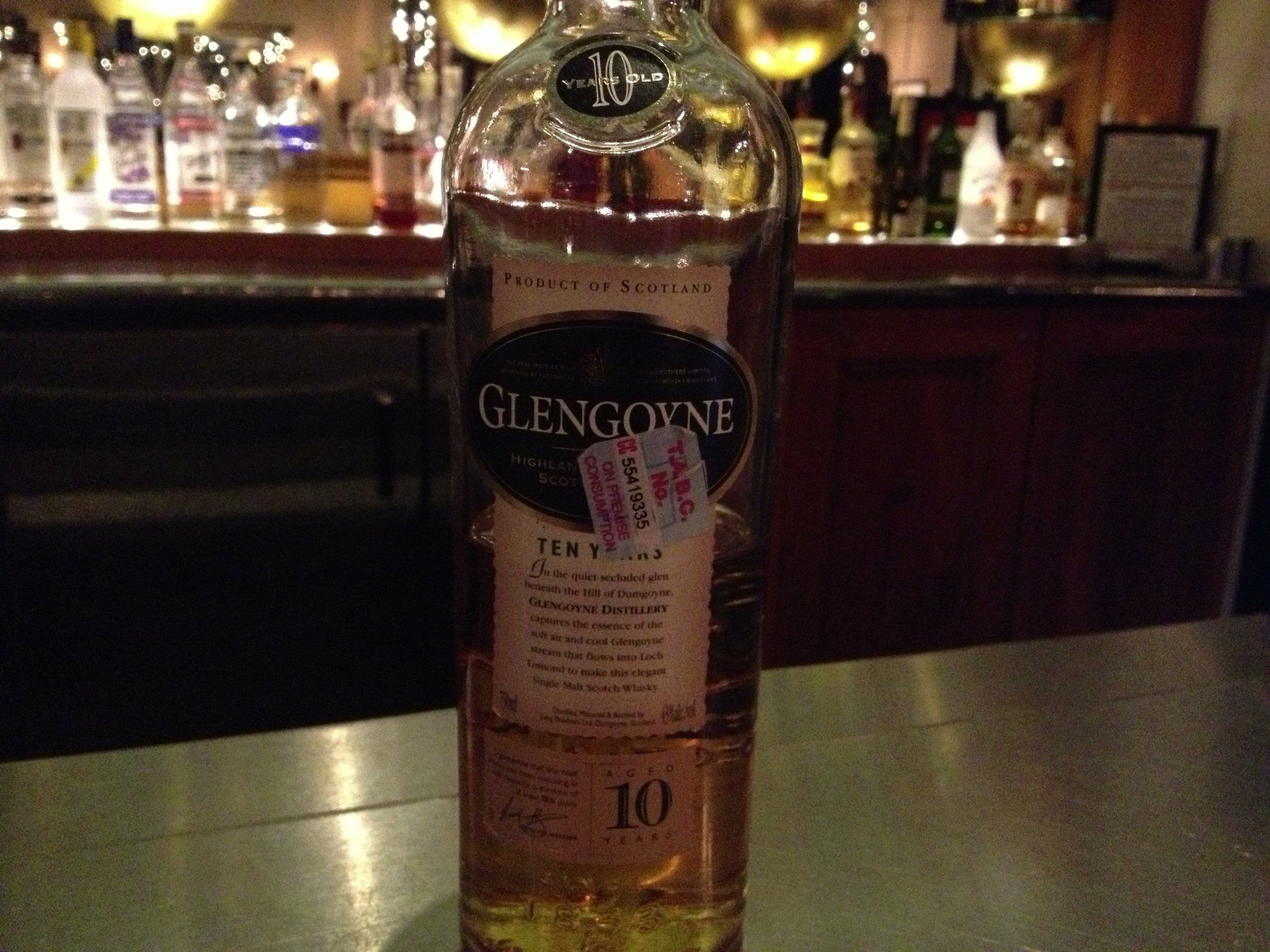 10 Year Old | 43% ABV - Distillery | Glengoyne