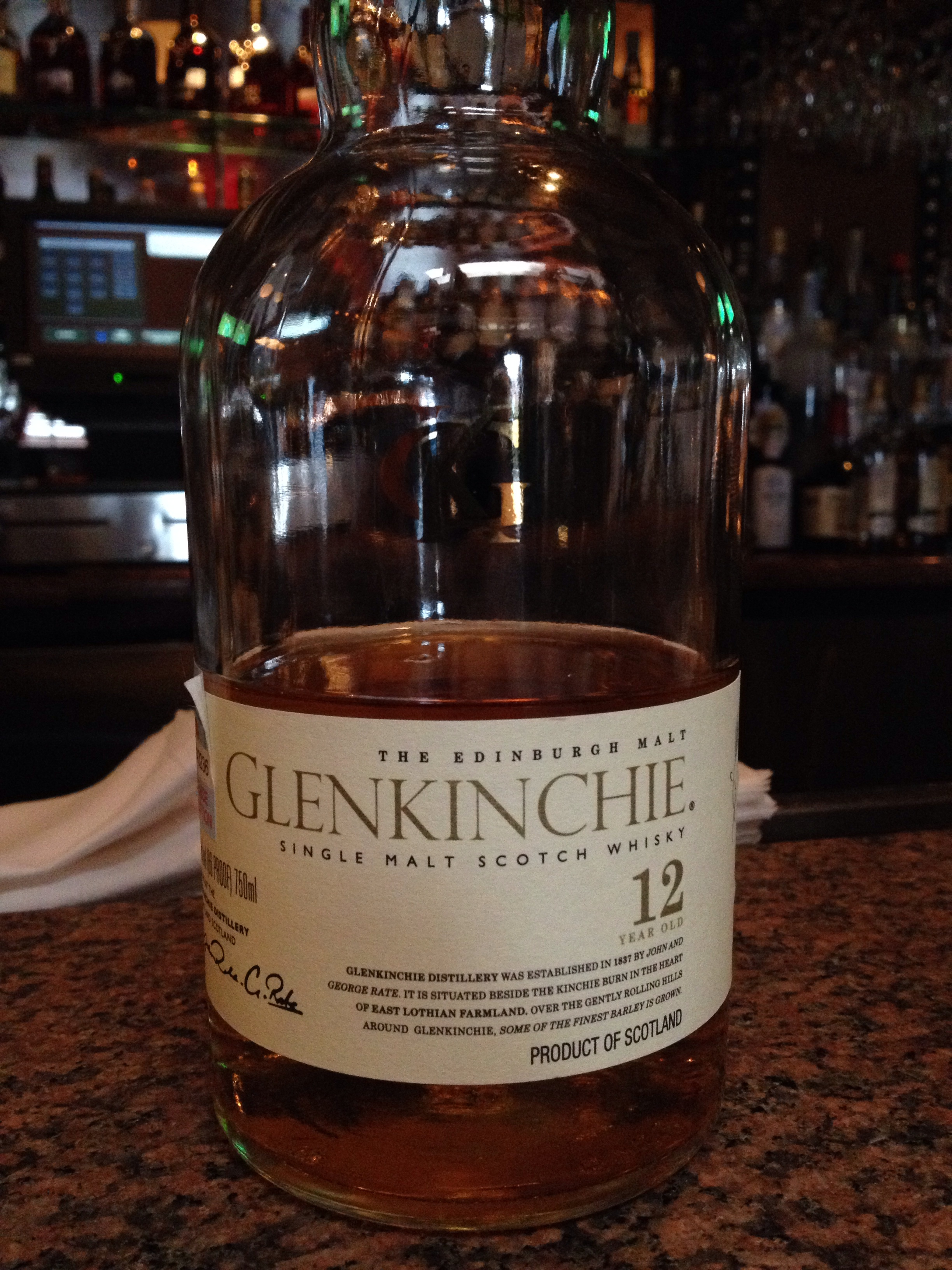 12 Year Old | 43% ABV - Distillery | Glenkinchie