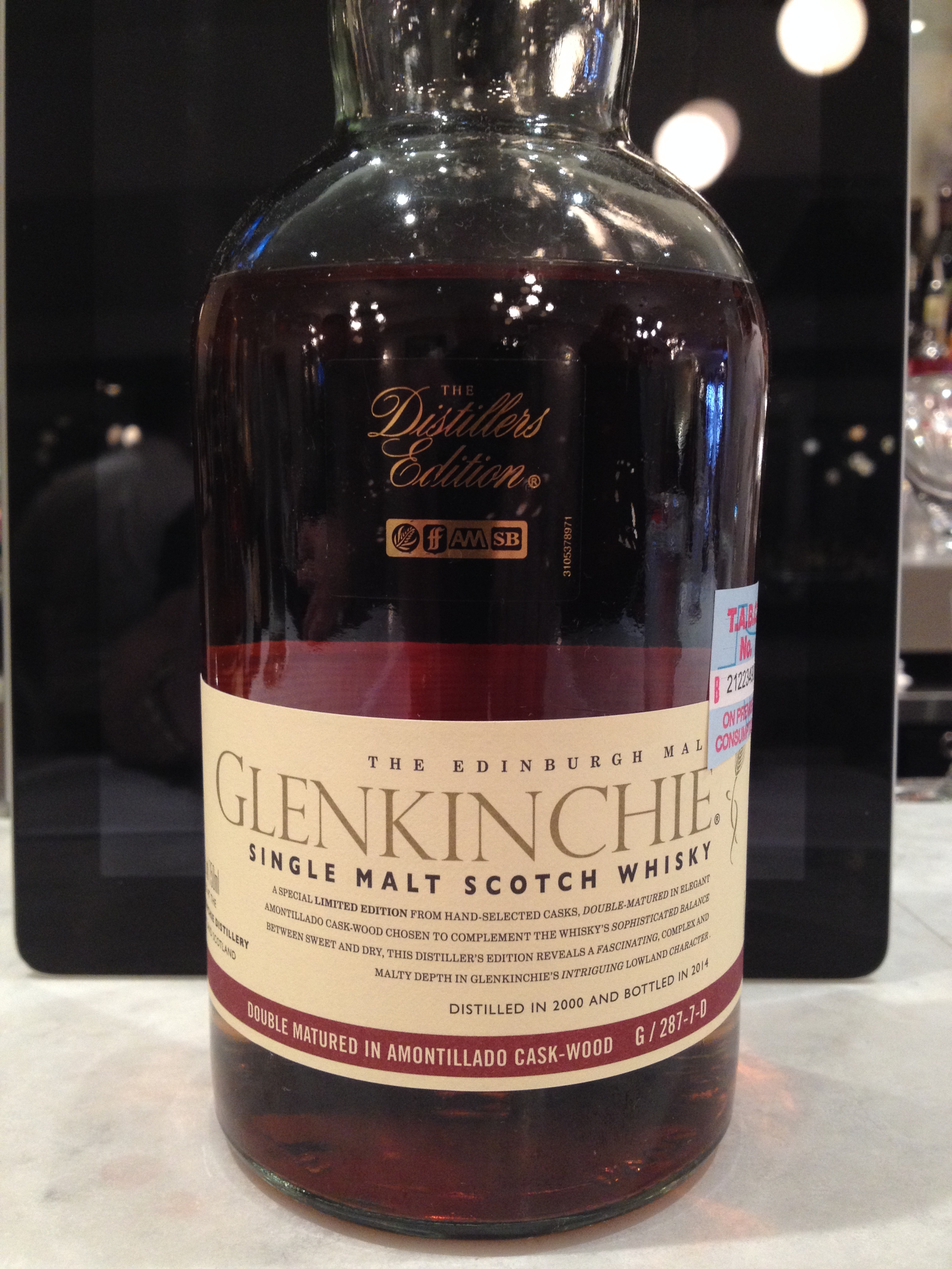 13 Year Old | 43% ABV - Distillery | Glenkinchie