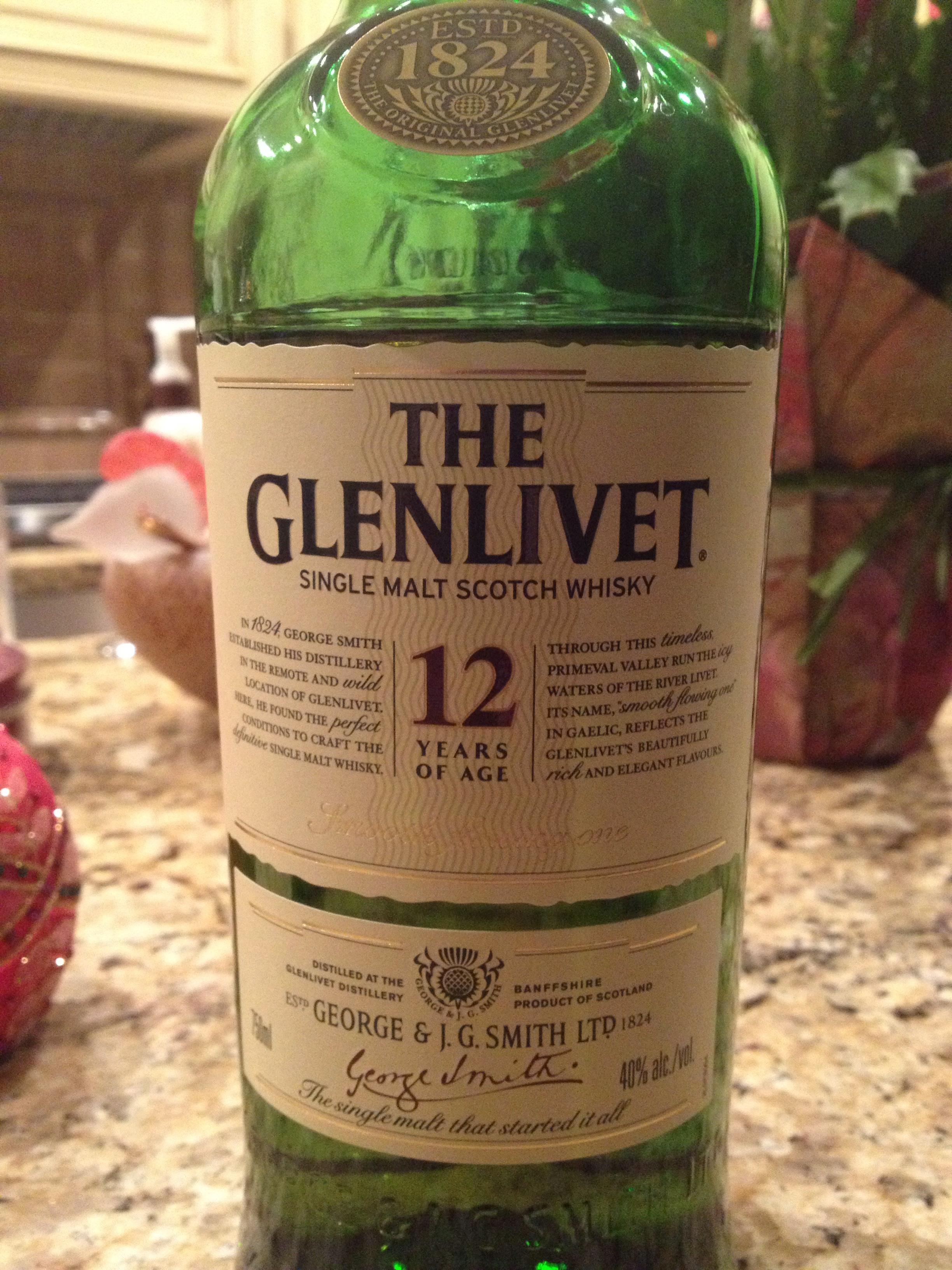 12 Year Old | 40% ABV - Distillery | Glenlivet