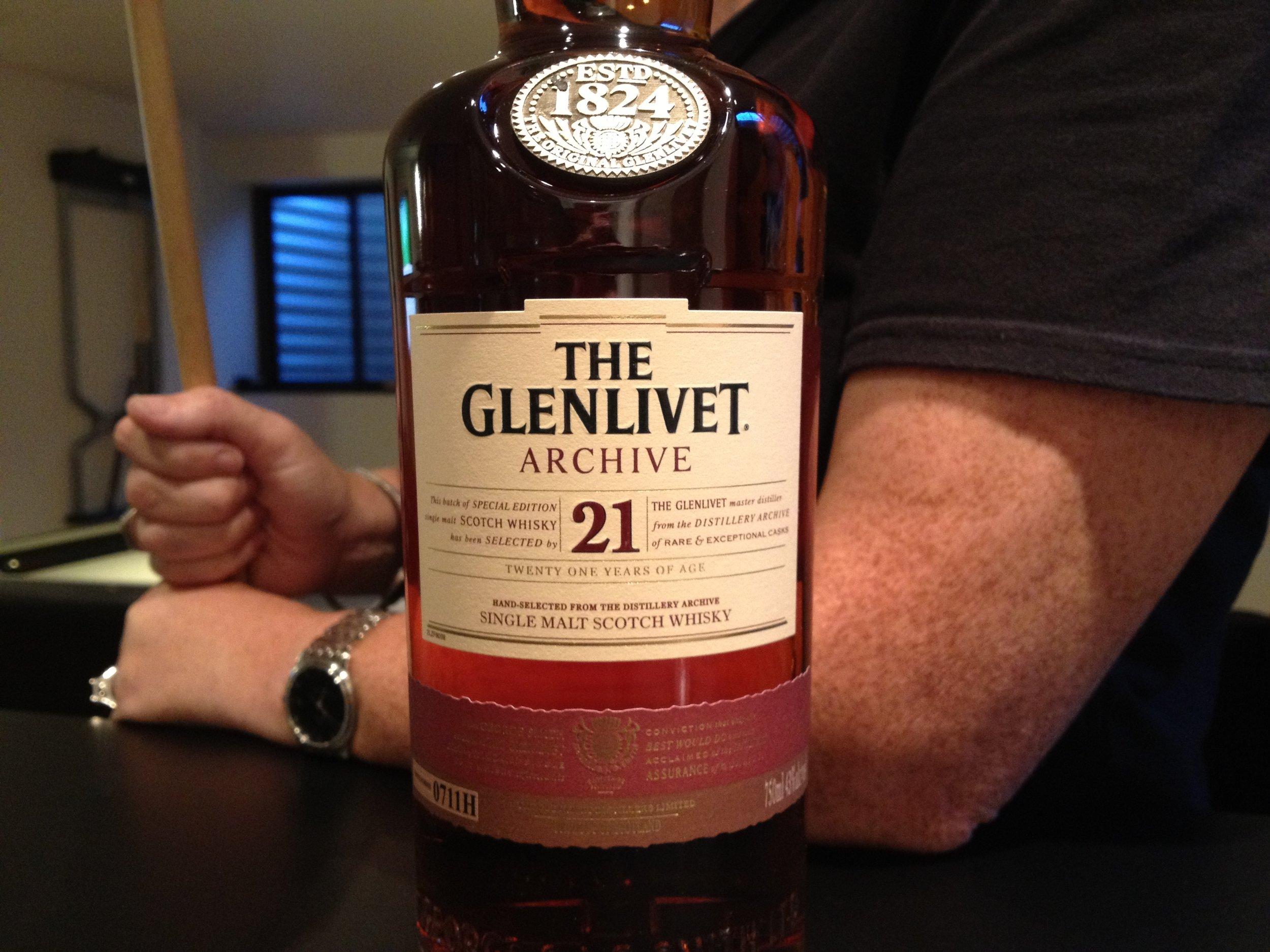 21 Year Old | 43% ABV - Distillery | Glenlivet