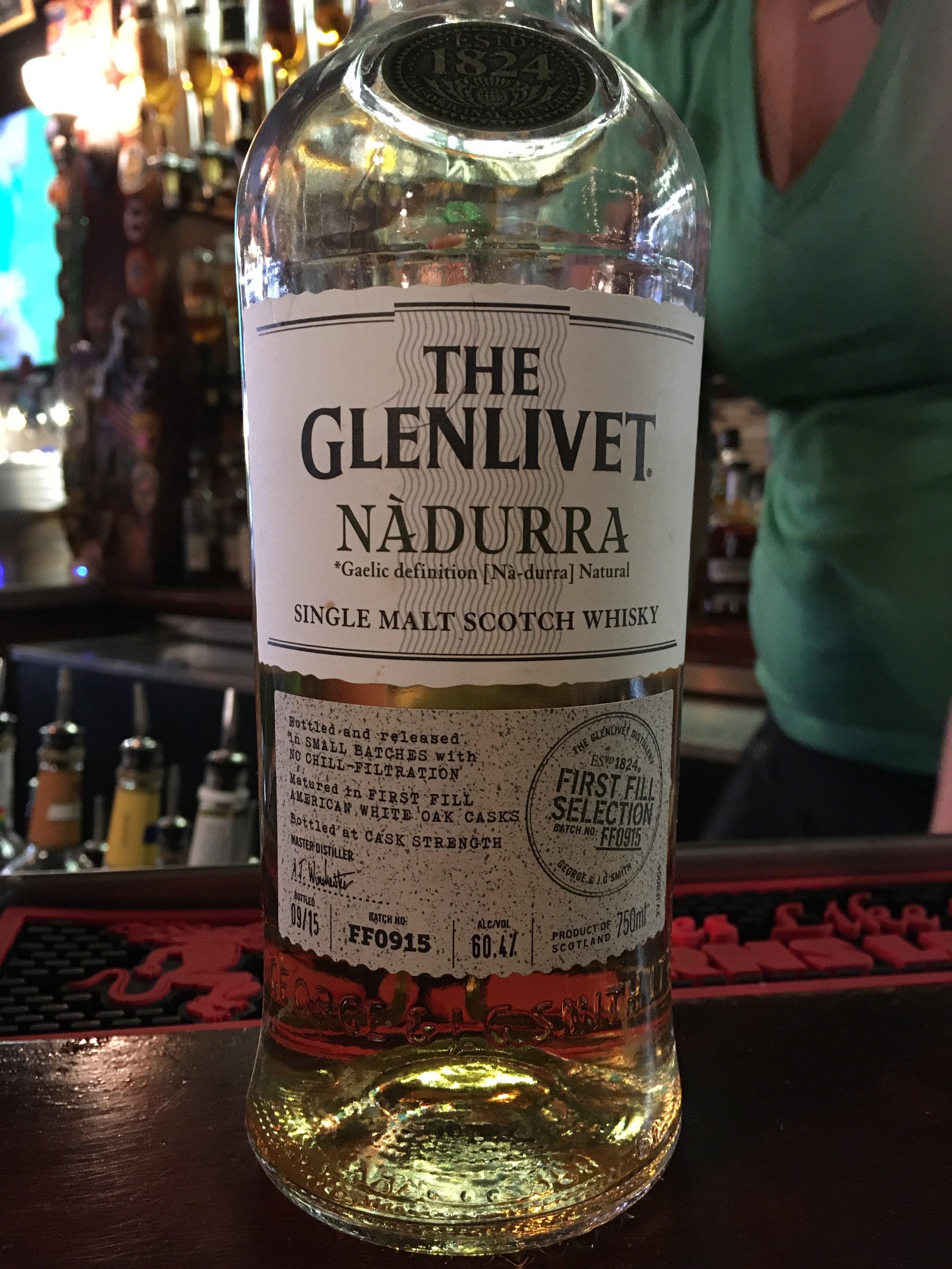 NAS   60.4% ABV - Distillery   Glenlivet
