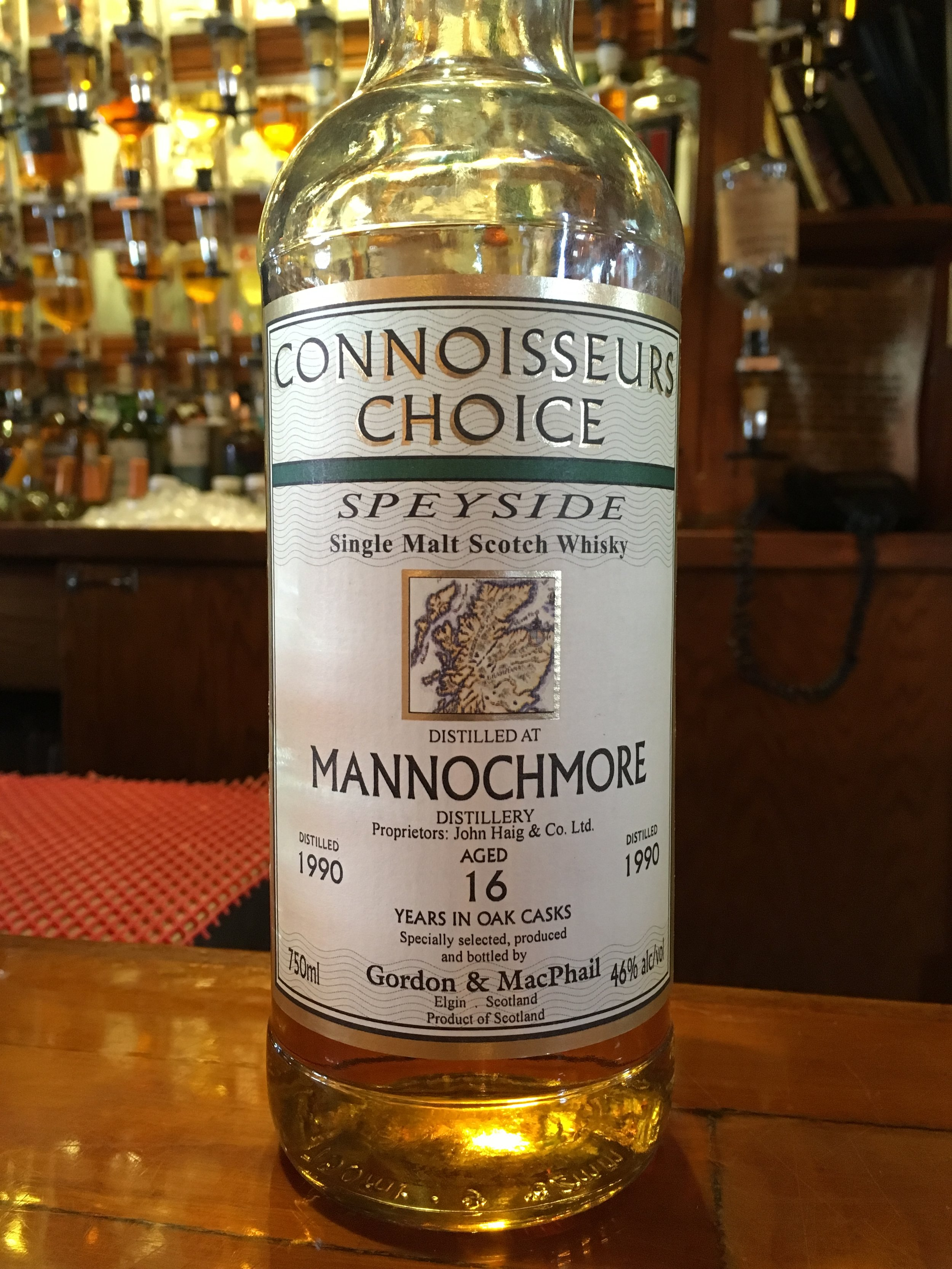 16 Year Old | 46% ABV - Distillery | Mannochmore