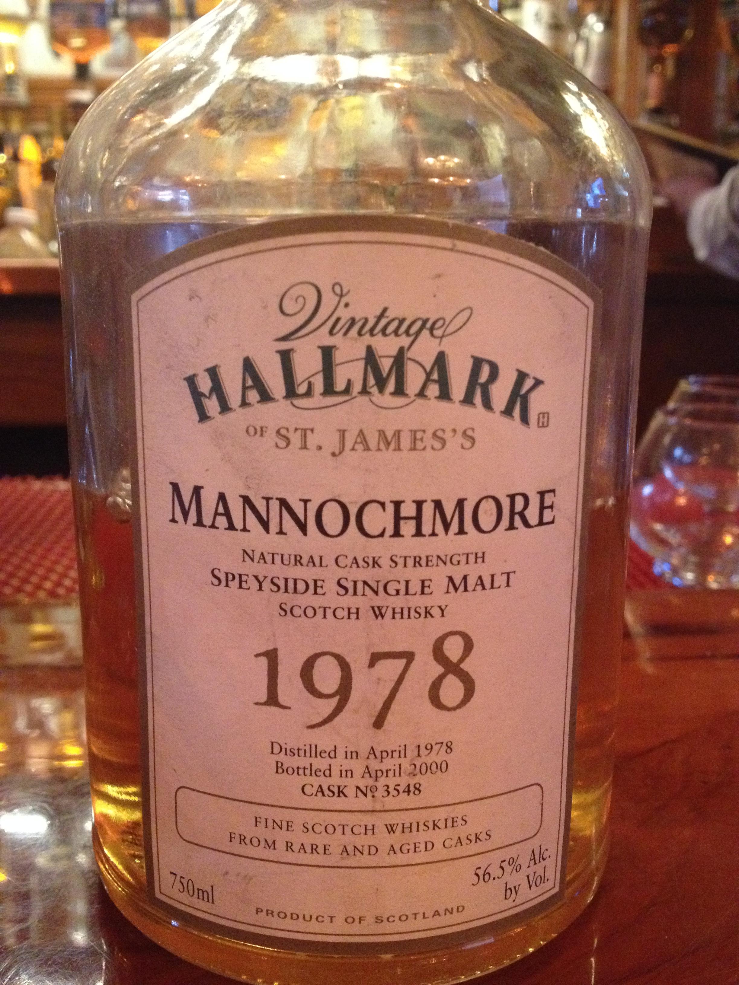 22 Year Old | 56.5% ABV - Distillery | Mannochmore