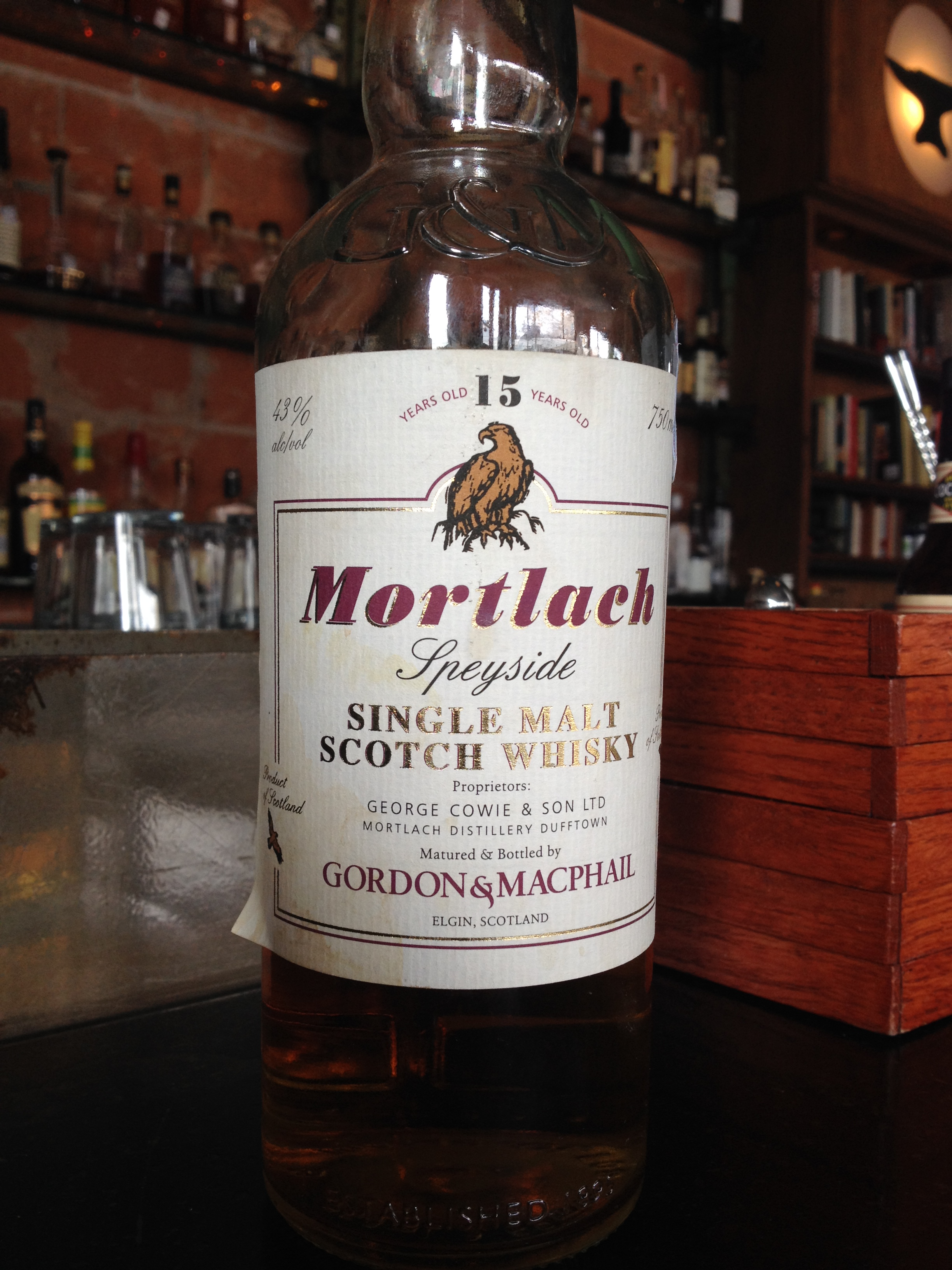 15 Year Old | 43% ABV - Distillery | Mortlach