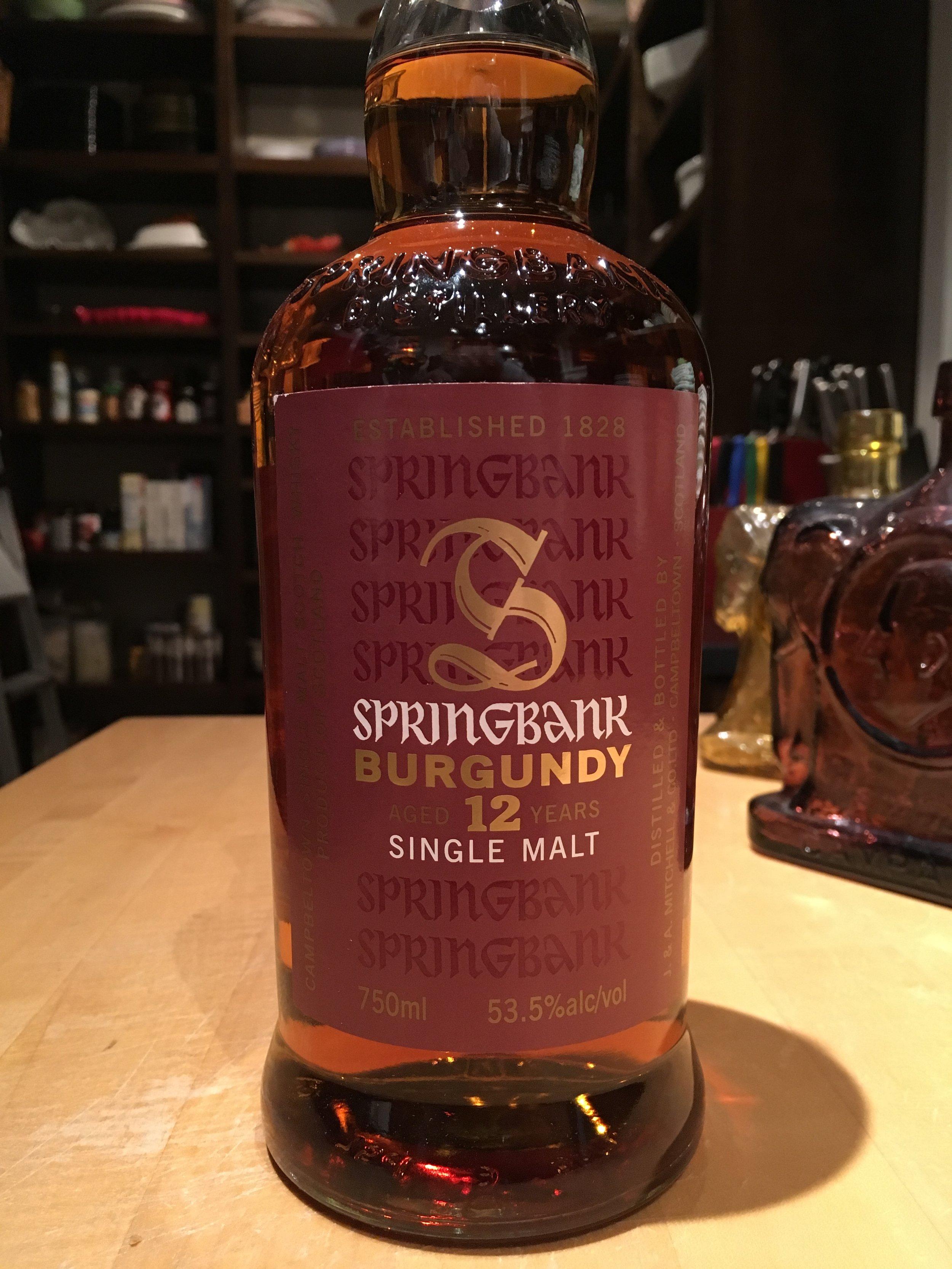 12 Year Old | 53.5% ABV - Distillery | Springbank