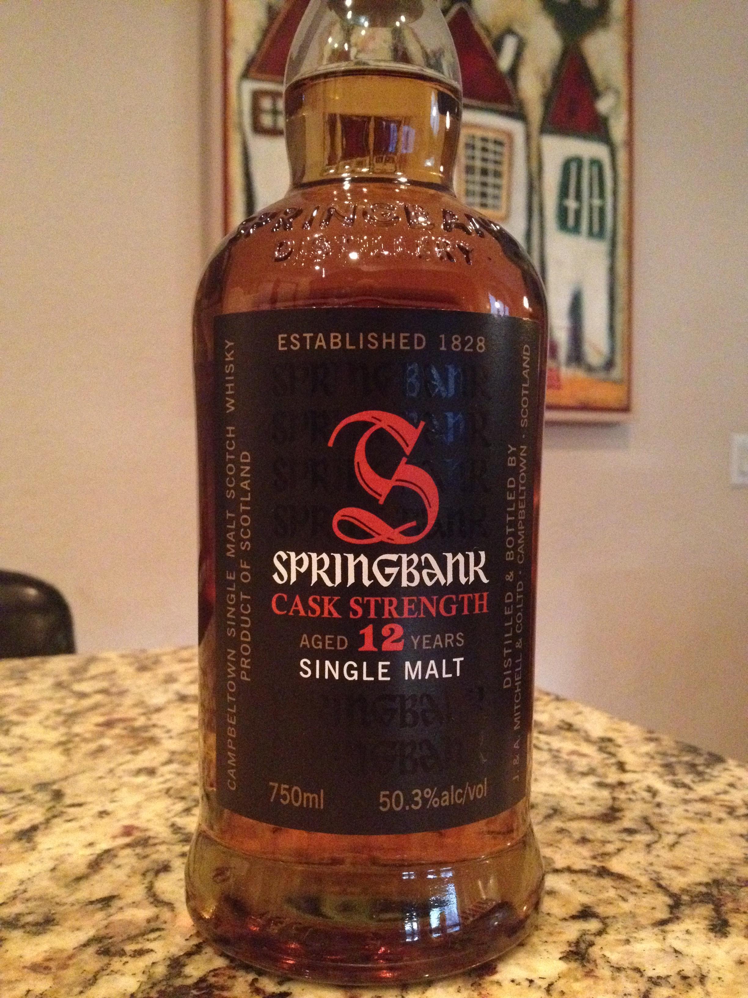 12 Year Old | 50.3% ABV - Distillery | Springbank