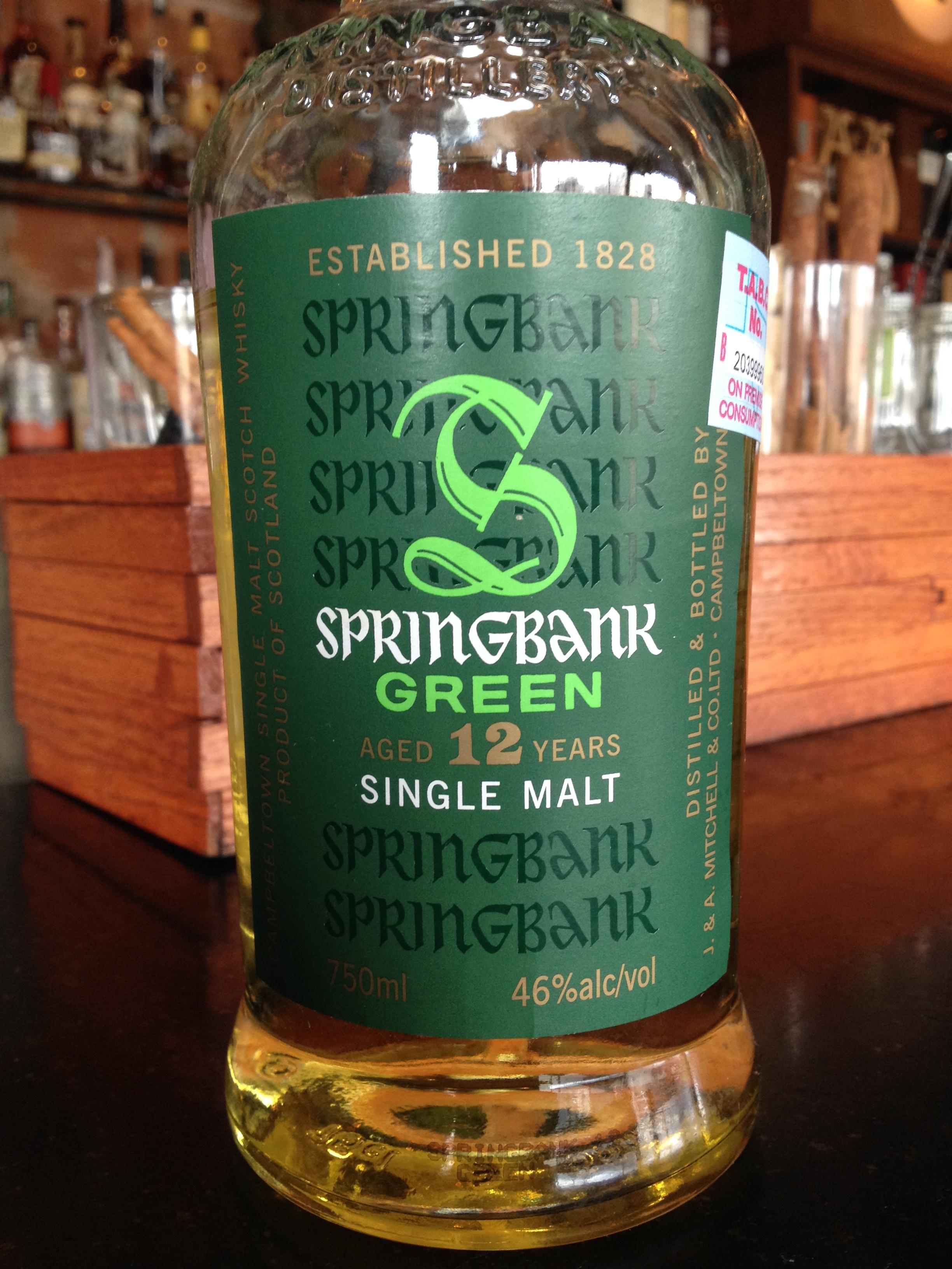 12 Year Old | 46% ABV - Distillery | Springbank