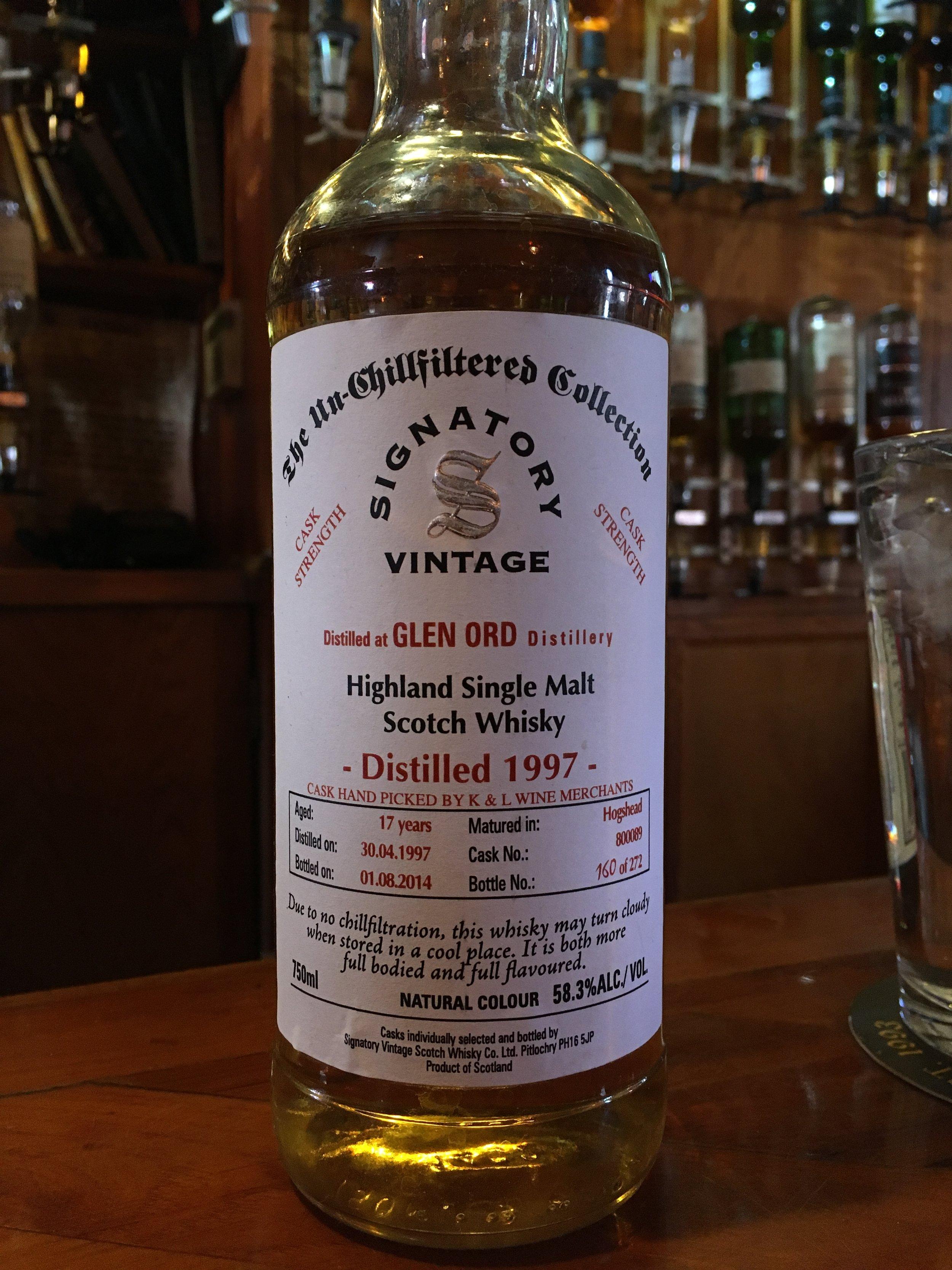 17 Year Old | 58.3% ABV - Distillery | Glen Ord