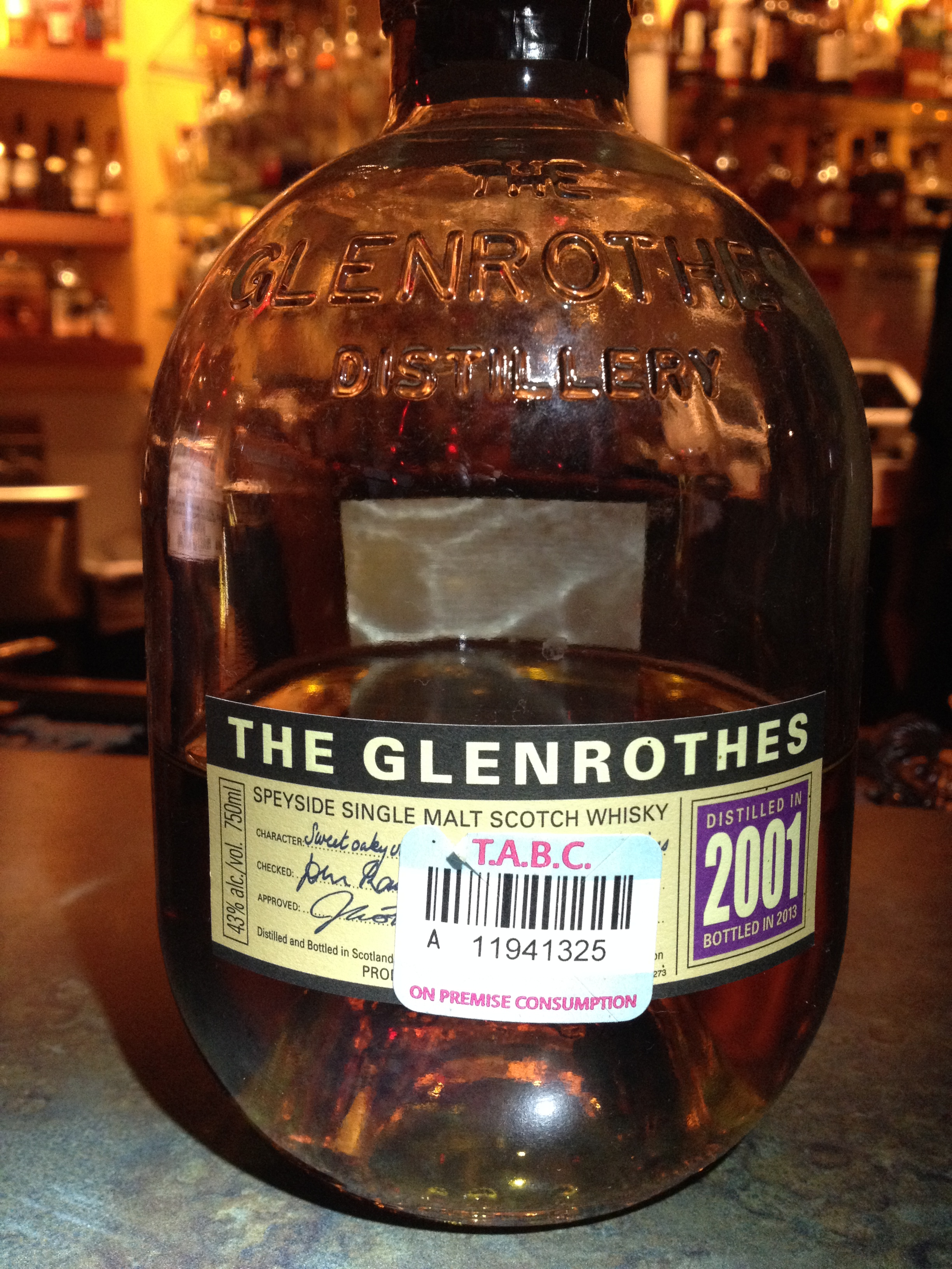 12 Year Old | 43% ABV - Distillery | Glenrothes