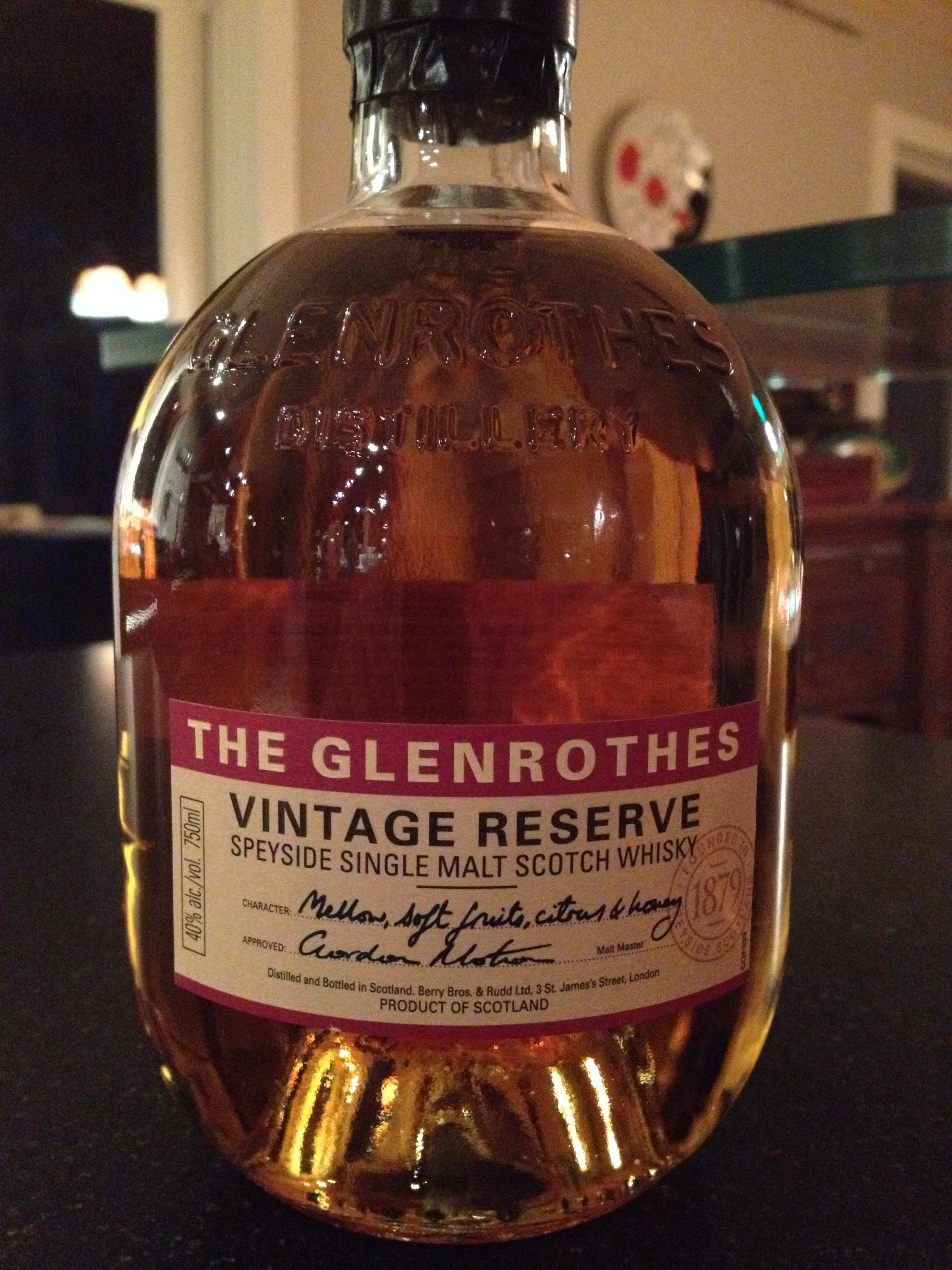 NAS | 40% ABV - Distillery | Glenrothes
