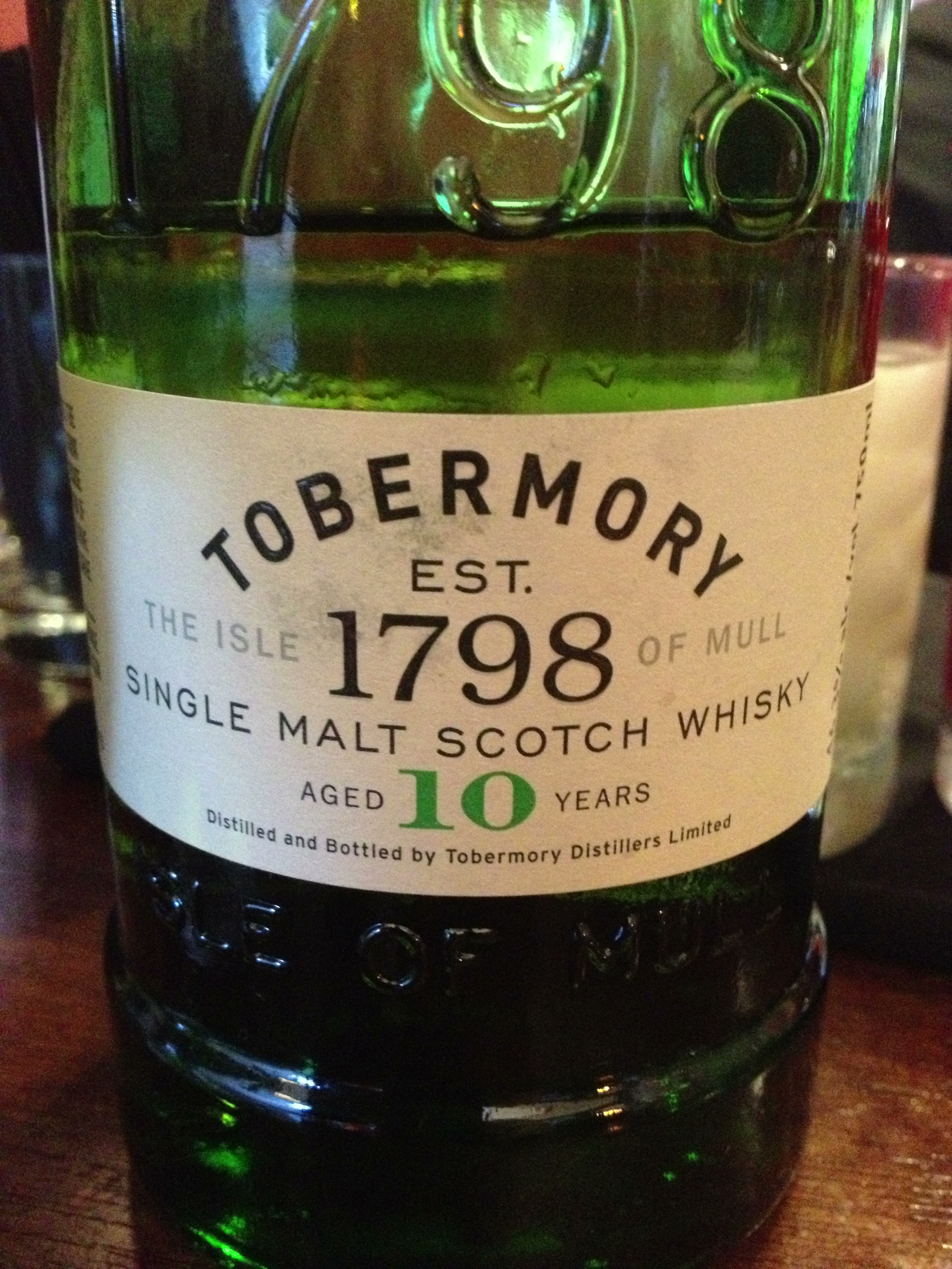 10 Year Old | 46.3% ABV - Distillery | Tobermory
