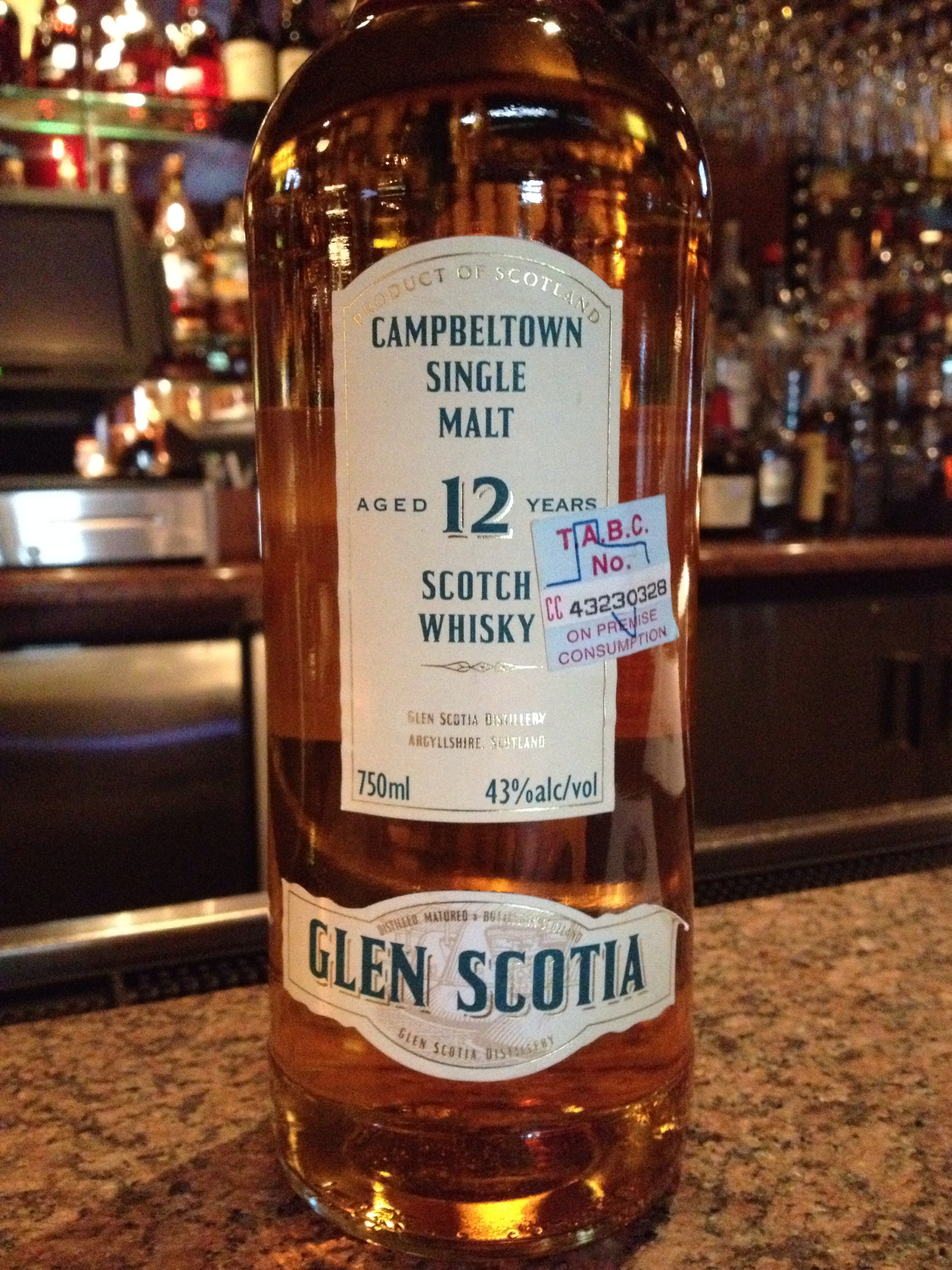 12 Year Old | 43% ABV - Distillery | Glen Scotia