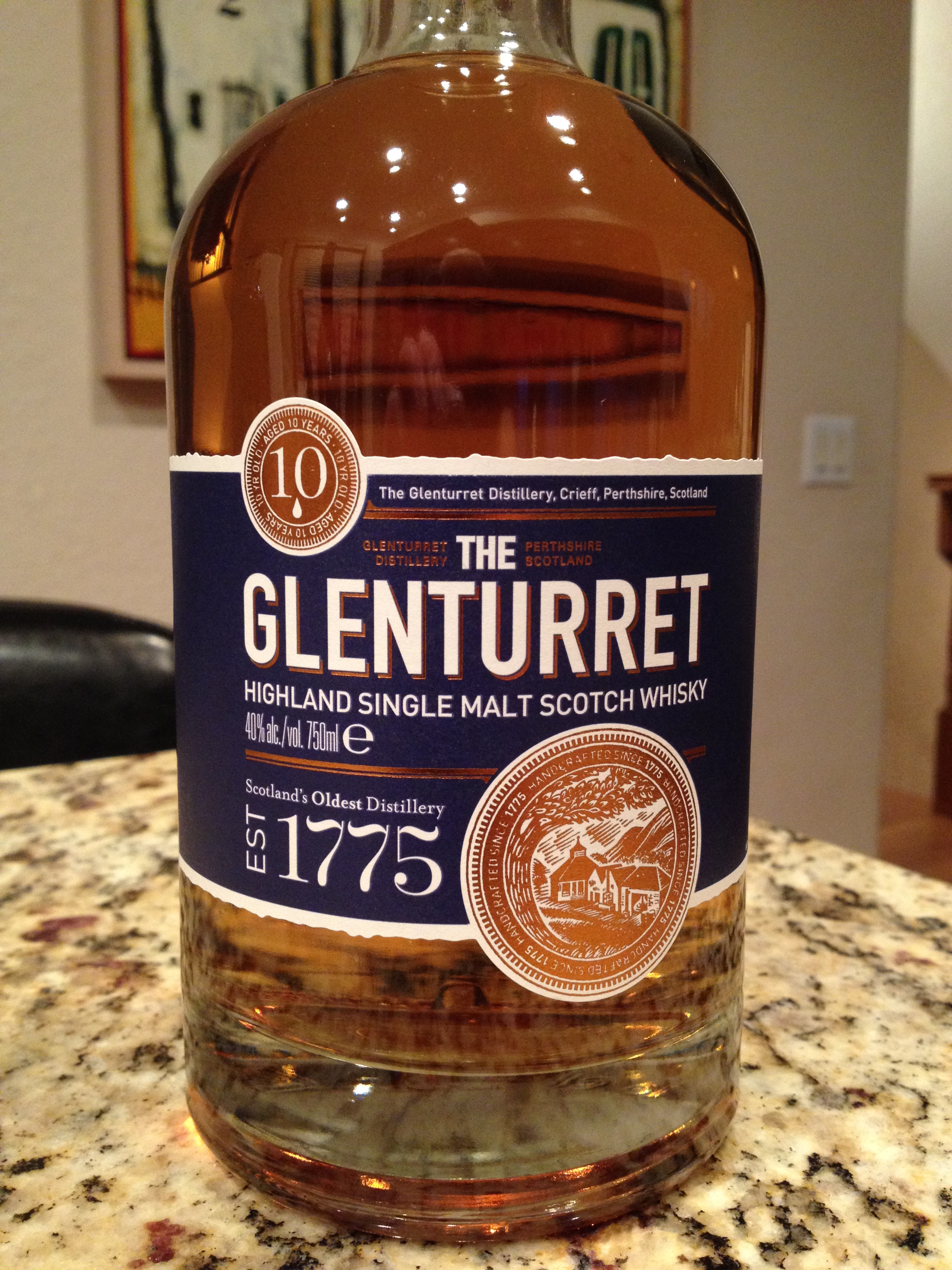 10 Year Old | 40% ABV - Distillery | Glenturret