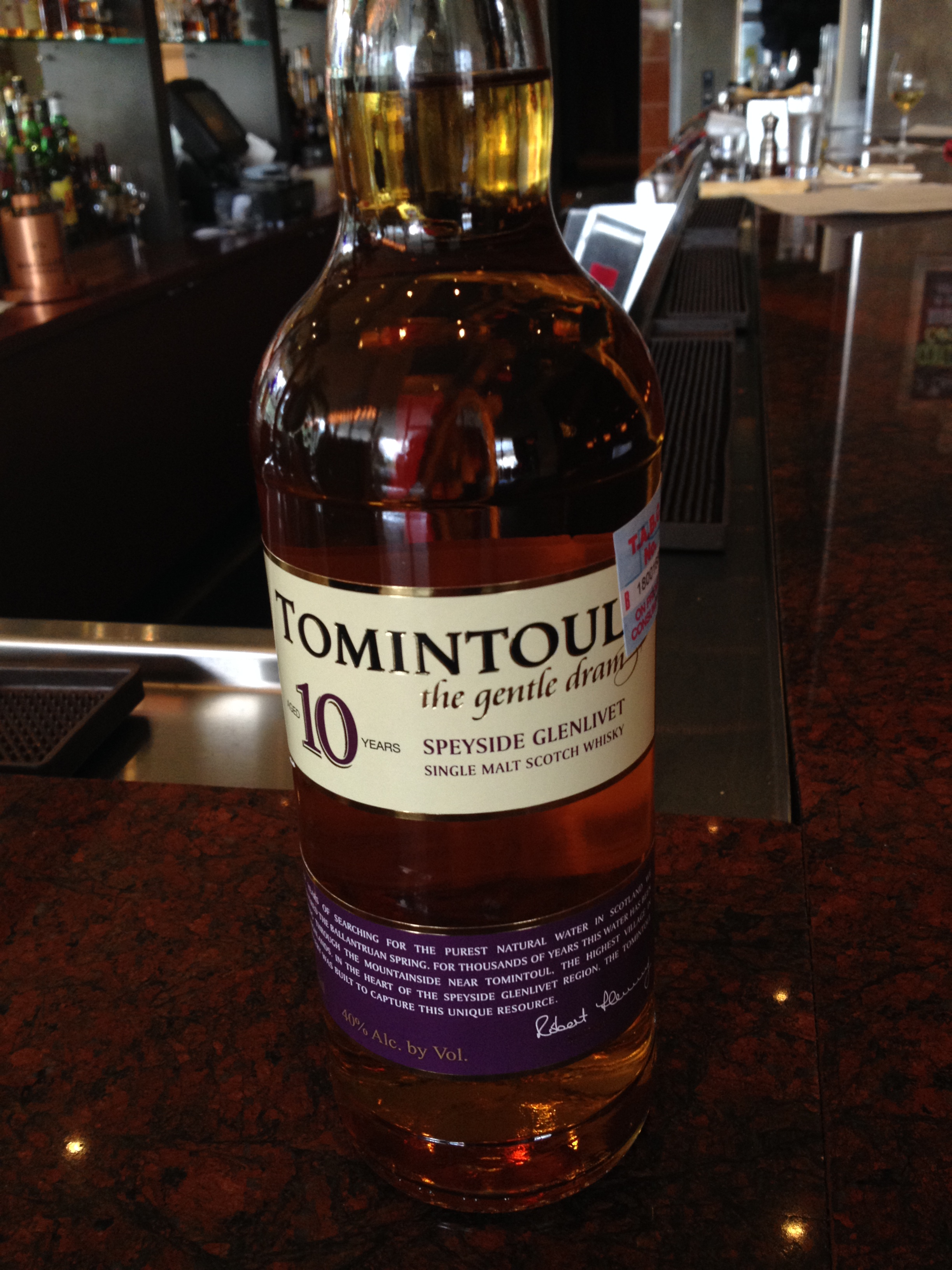 10 Year Old | 40% ABV - Distillery | Tomintoul