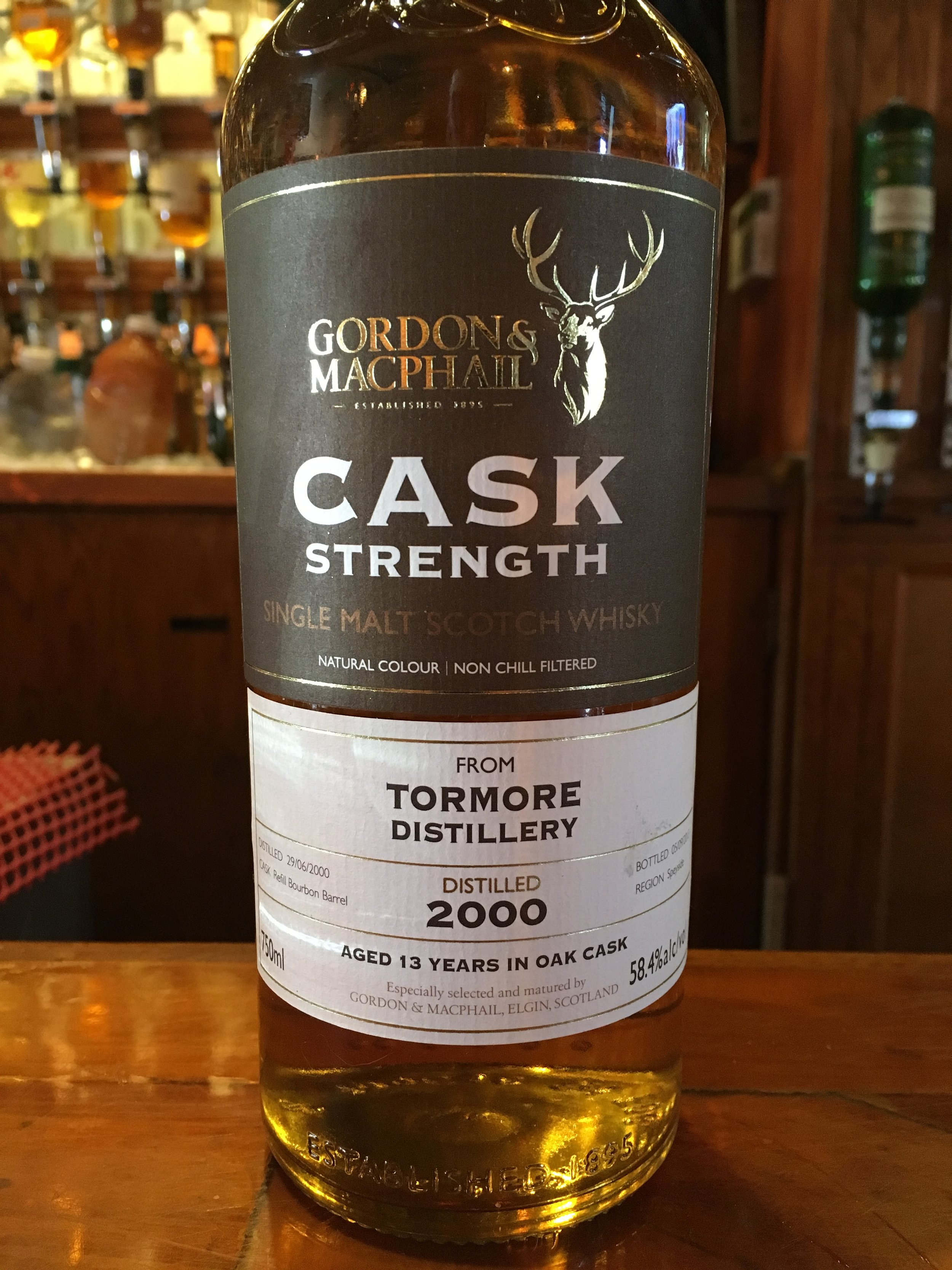 13 Year Old | 58.4% ABV - Distillery | Tormore