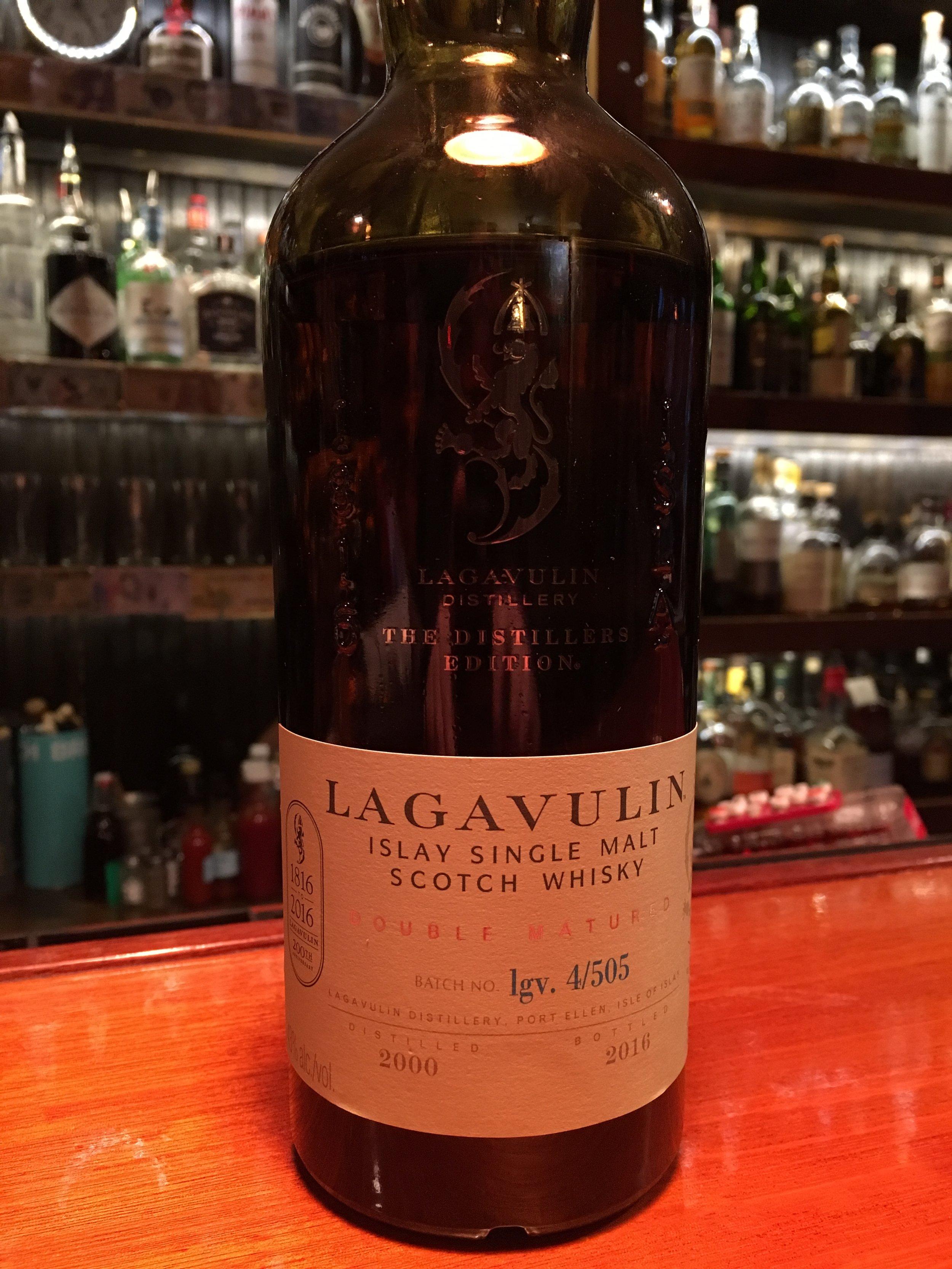 16 Year Old   43% ABV - Distillery   Lagavulin