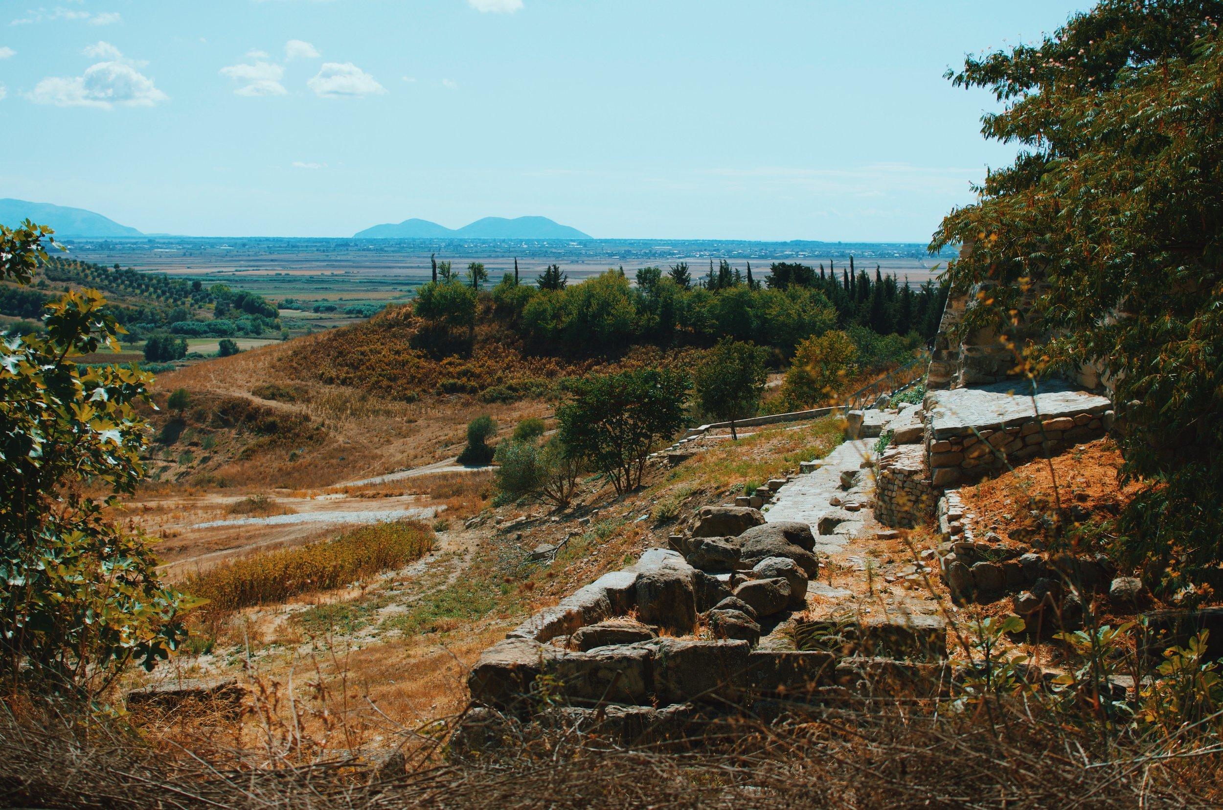 Ruins in Apollonia, Albania