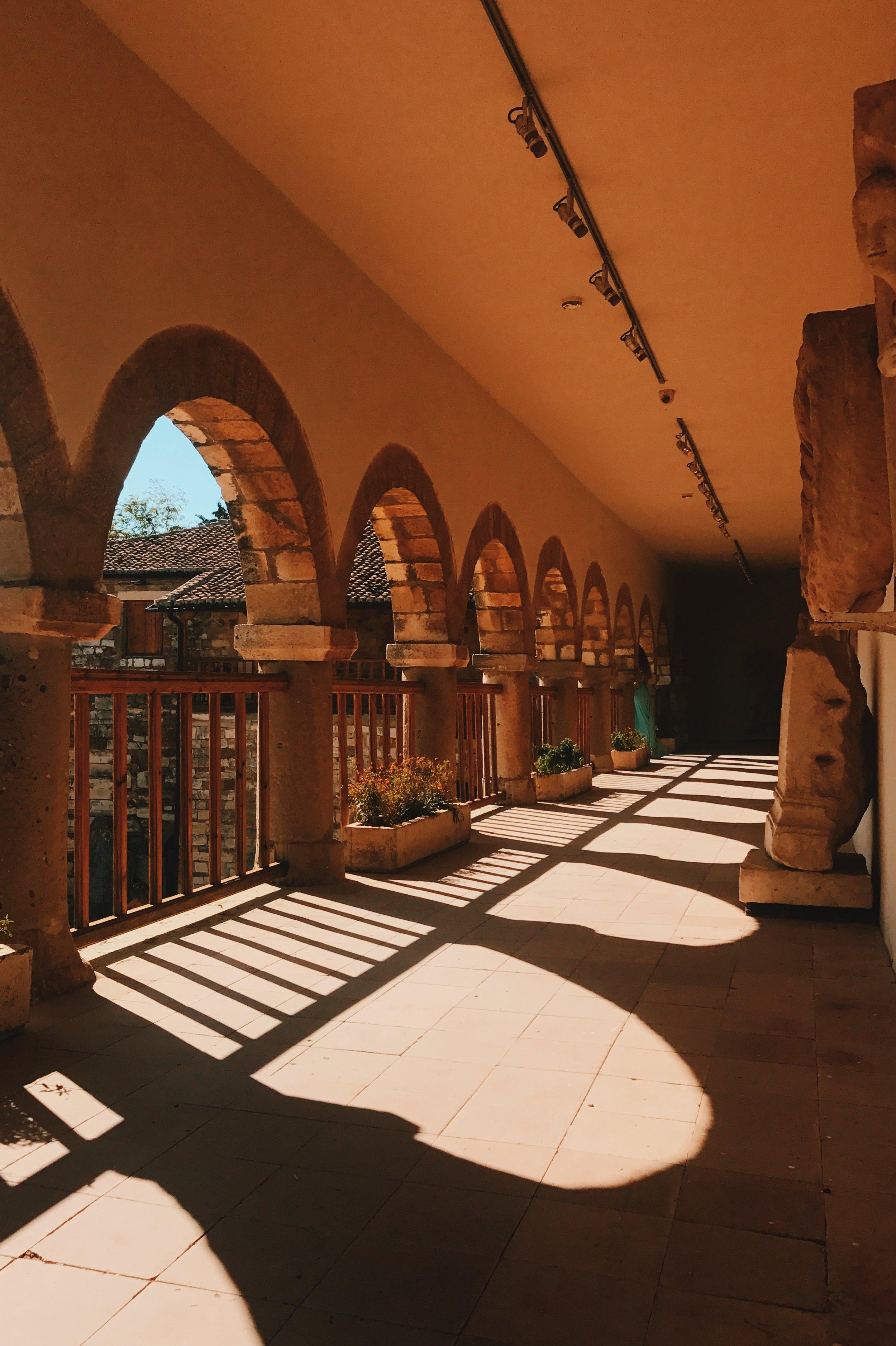 The monastery in Apollonia
