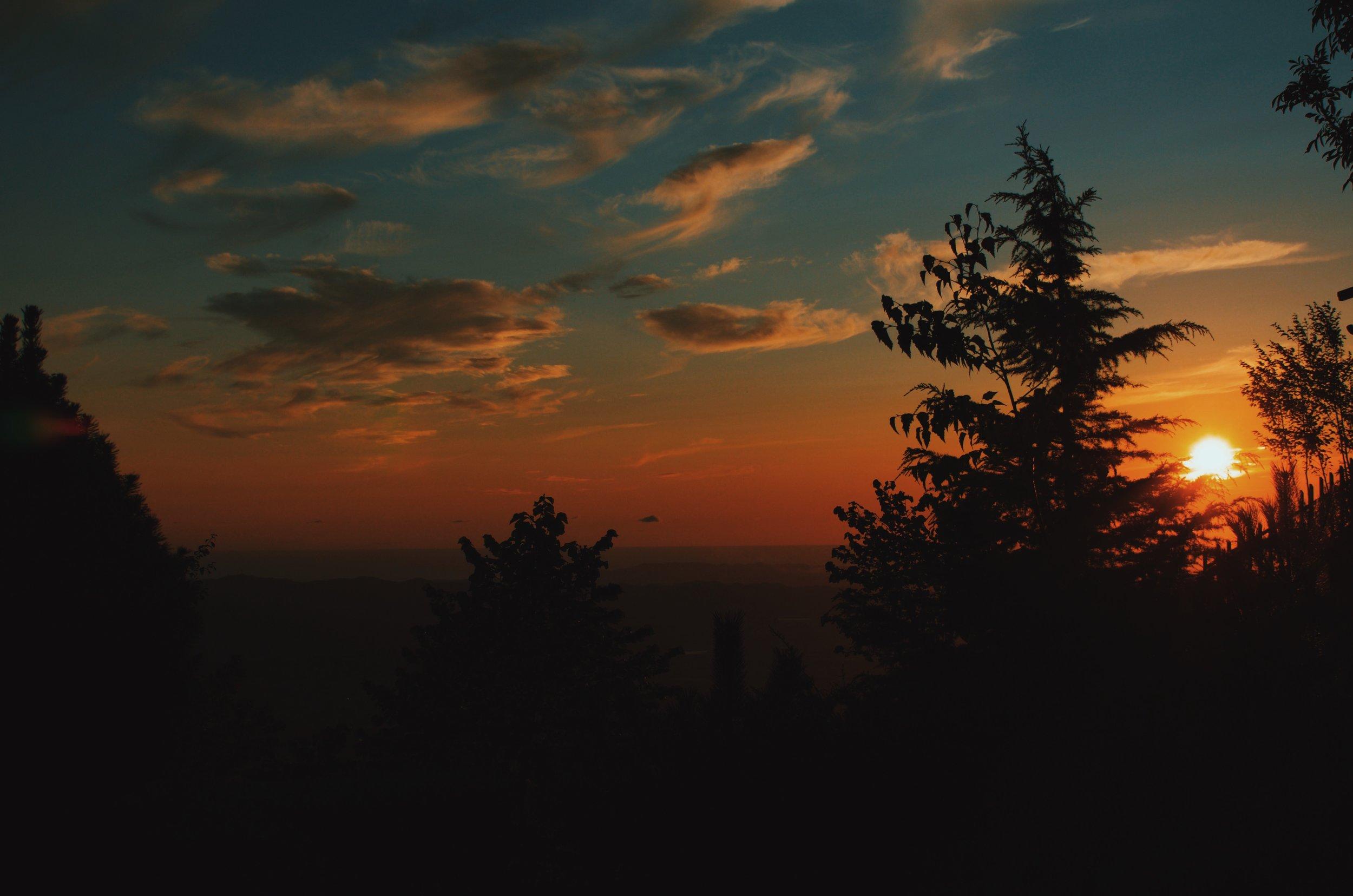 Sunset in Albania
