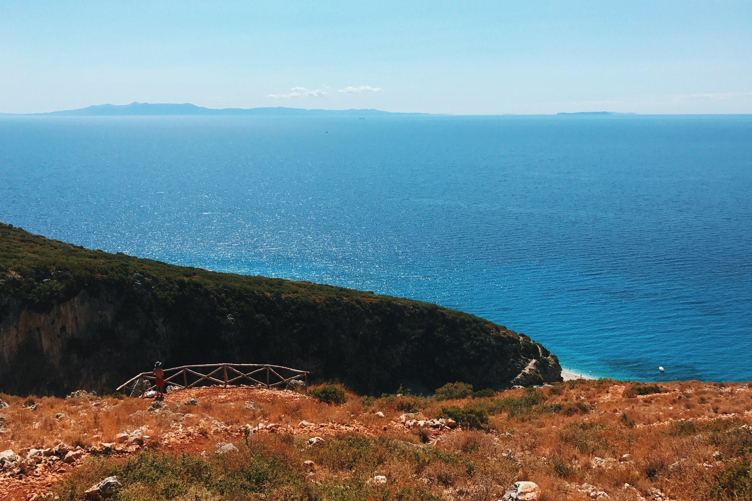 Gjipe Beach Panorama