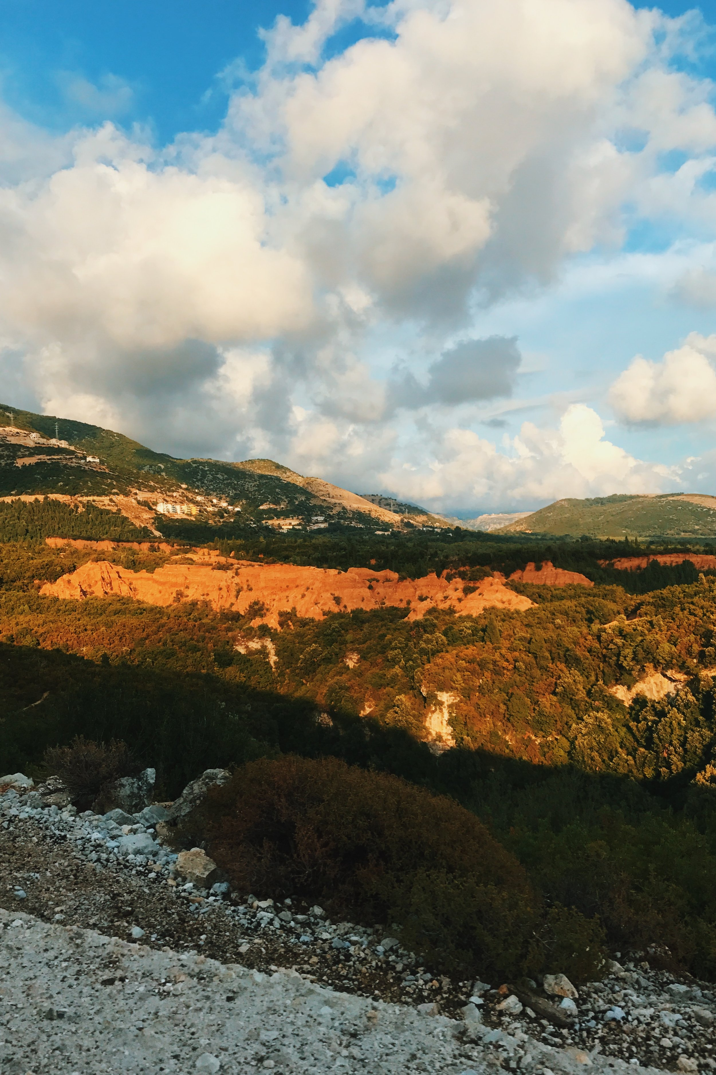 Mountains near Gjipe beach, Albania
