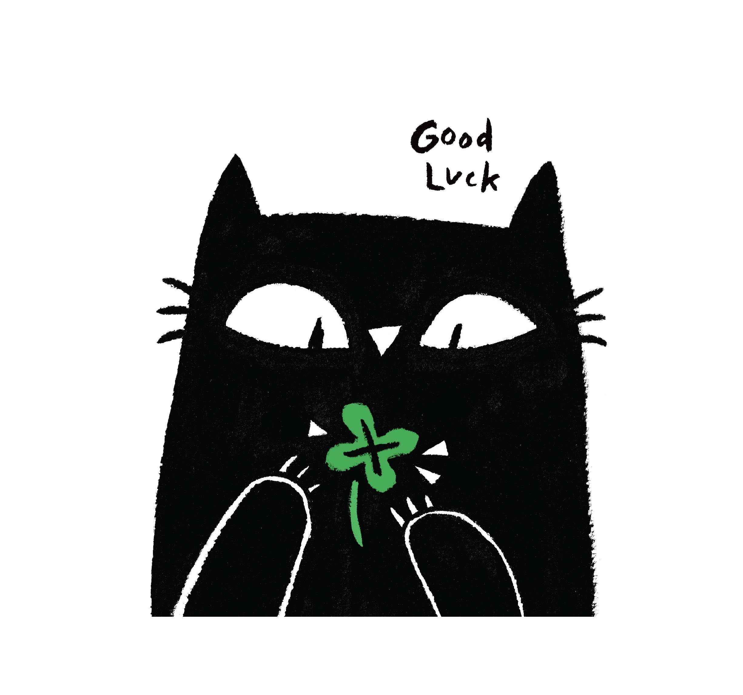 good luck greetings card rachel logan illustration.jpg