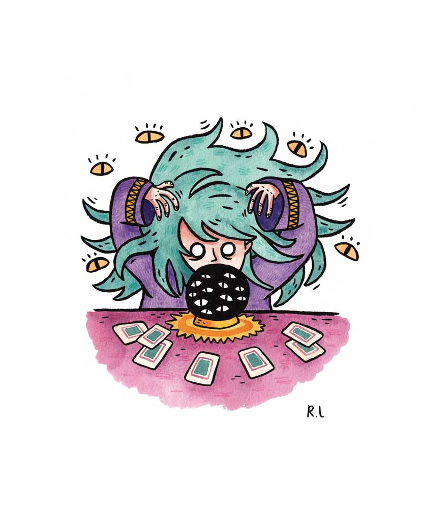 rachel logan illustration fortune teller witch tarot cards blind.jpg