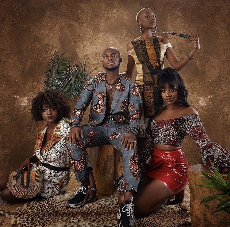 Photography FRANKLIN GYAN Director THE BLACK SHUTTER wardrobe TANETAMA FABRICS models Benni, Kayslaay, Natascha King Promise: AS PROMISED
