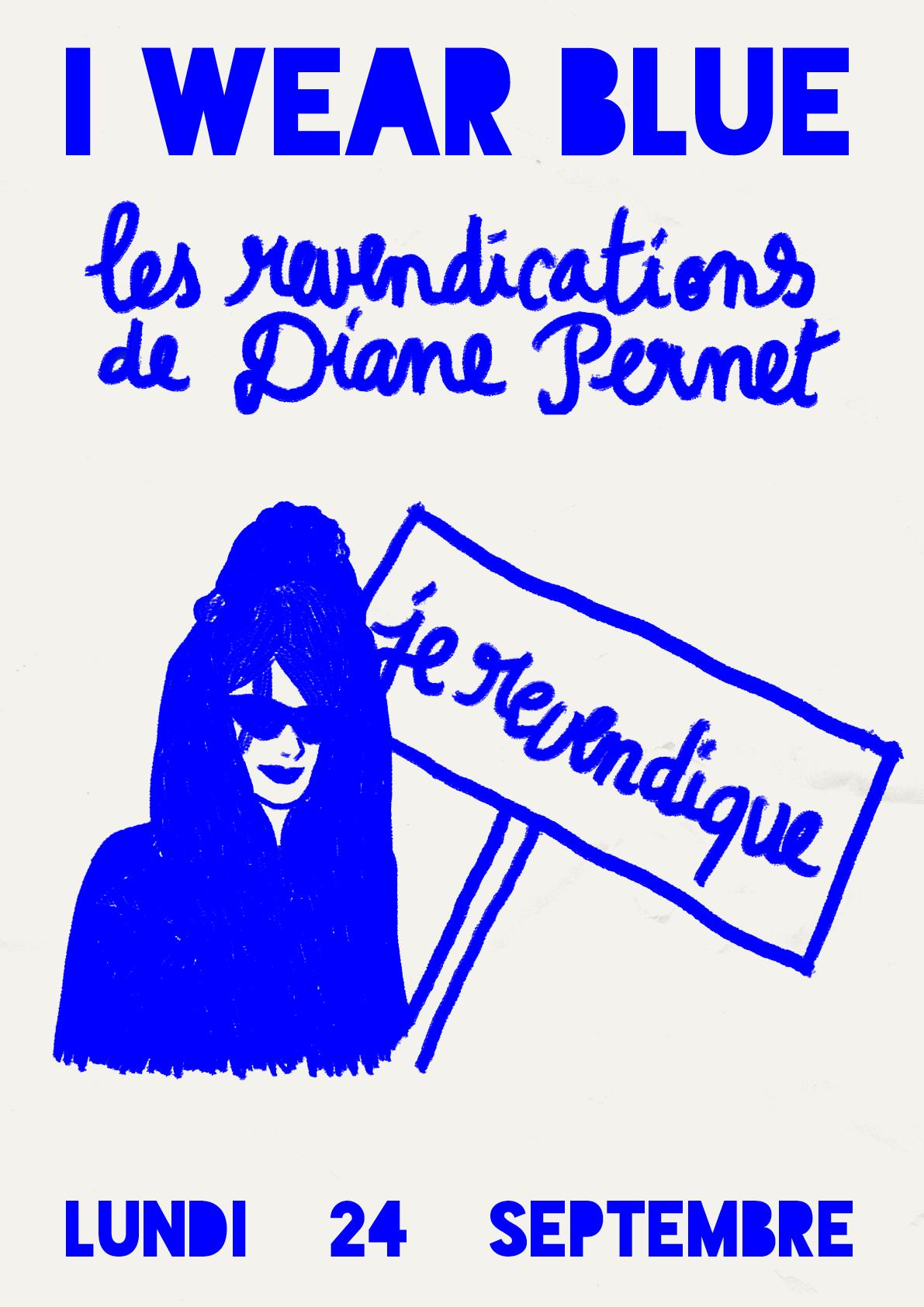 Les Revendications de Diane Pernet - Les Revendications de Diane PernetAfterwork: 6 - 8 pmConference and Q&A with Diane Pernet on new technologiesCocktail party