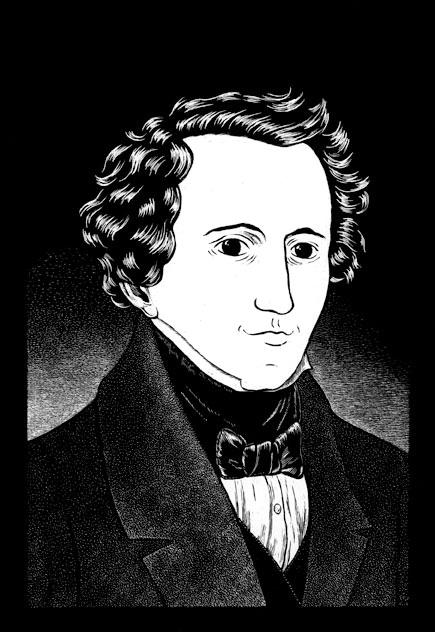 - Portrait of Felix Mendelssohn»Lyric Chamber Music Society of New York«, 2008