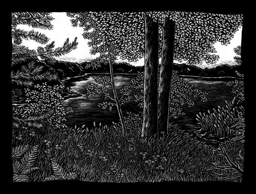 - Saboteur — »A Place Where Painters Meet«Cover Illustration, 2008