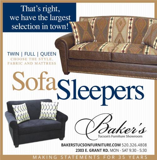 Cullen Creative Advertising, Bakers Furniture Tucson