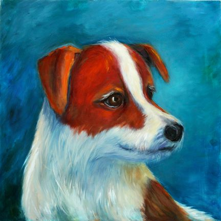 Come to Premium Pets to see more canvas paintings by Hollis