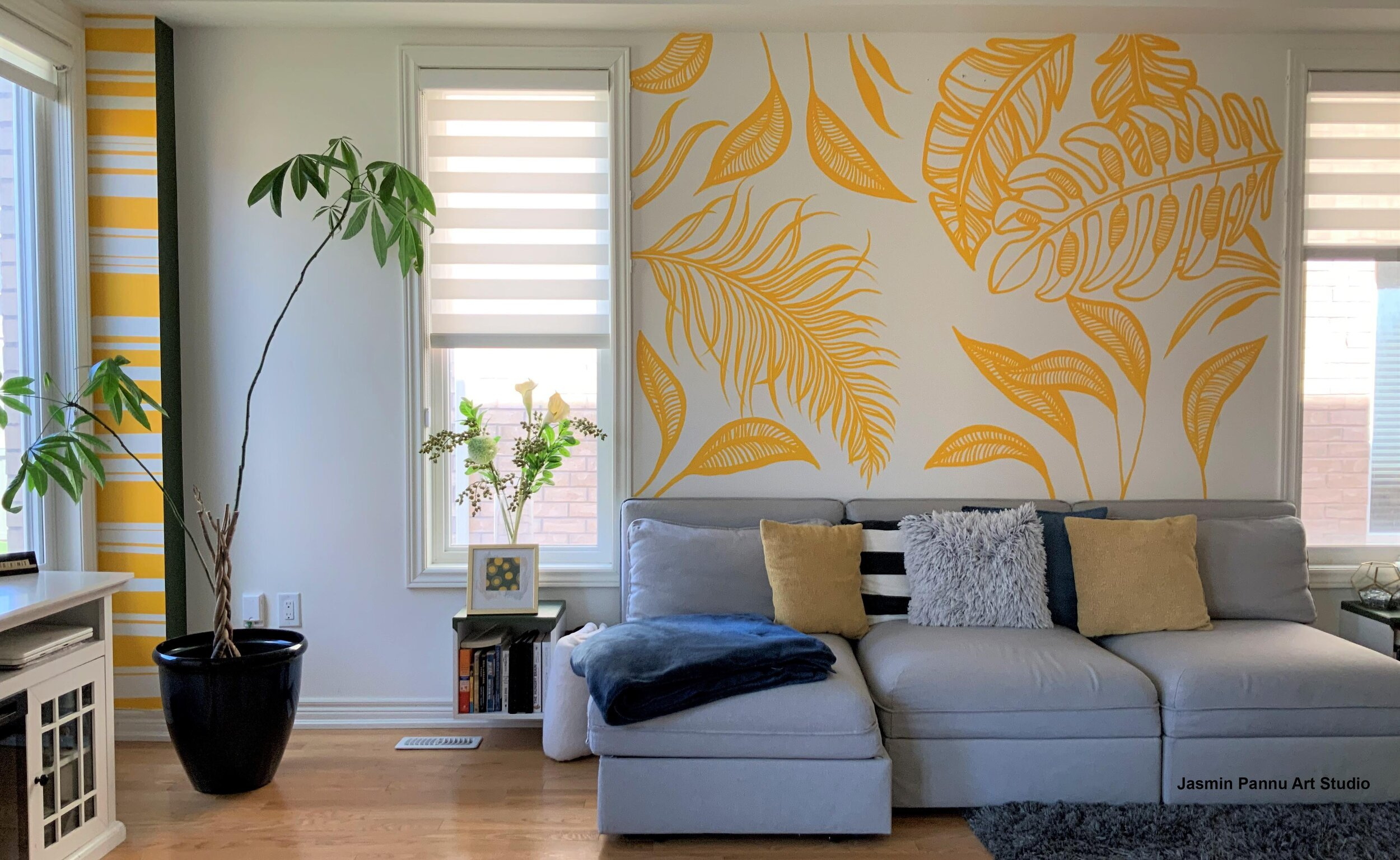 Diy Mural Tips With Wall Painting Templates Jasmin Pannu Art Studio See more ideas about tropical art, watercolor paintings, tropical painting. diy mural tips with wall painting