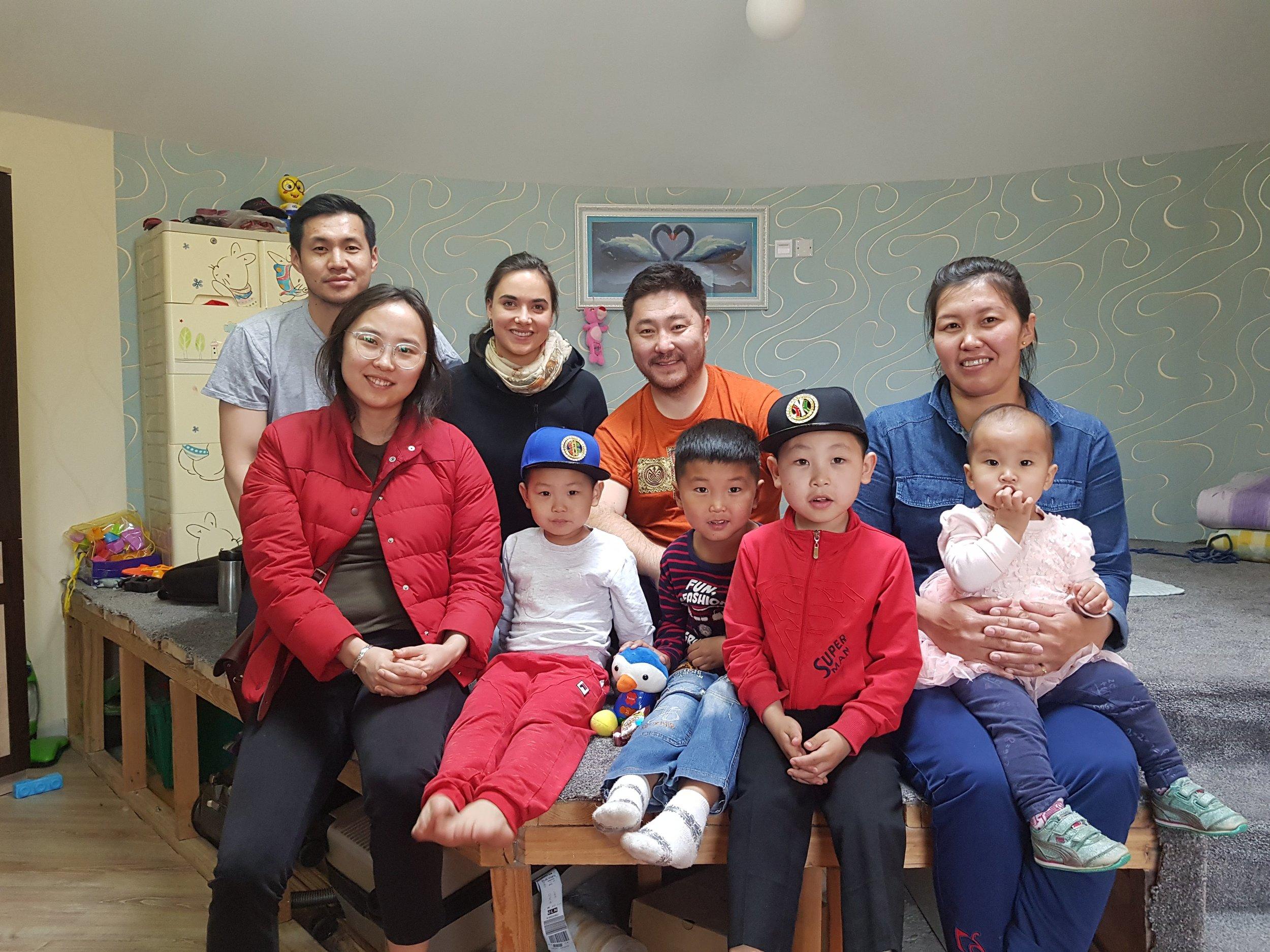 PASSIVE GER Interior / ПАССИВ ГЭР интерьер GerHub, EcoTown, Tuya, her kids and nephews