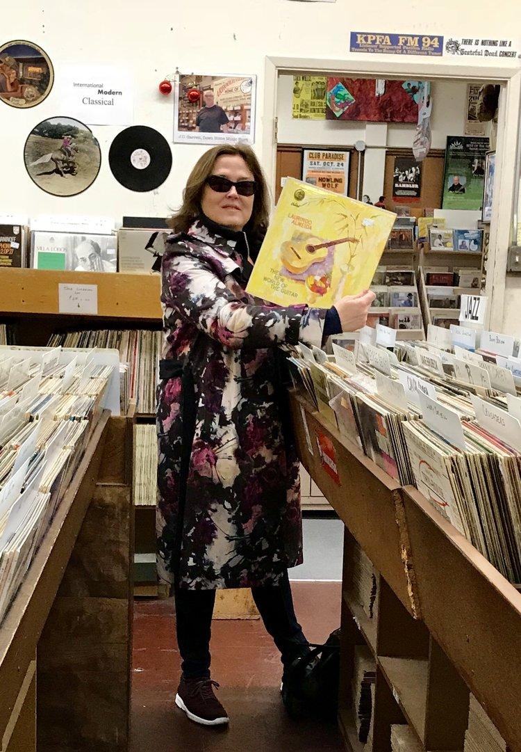 Fabulous finds at Down Home Music, El Cerrito, CA