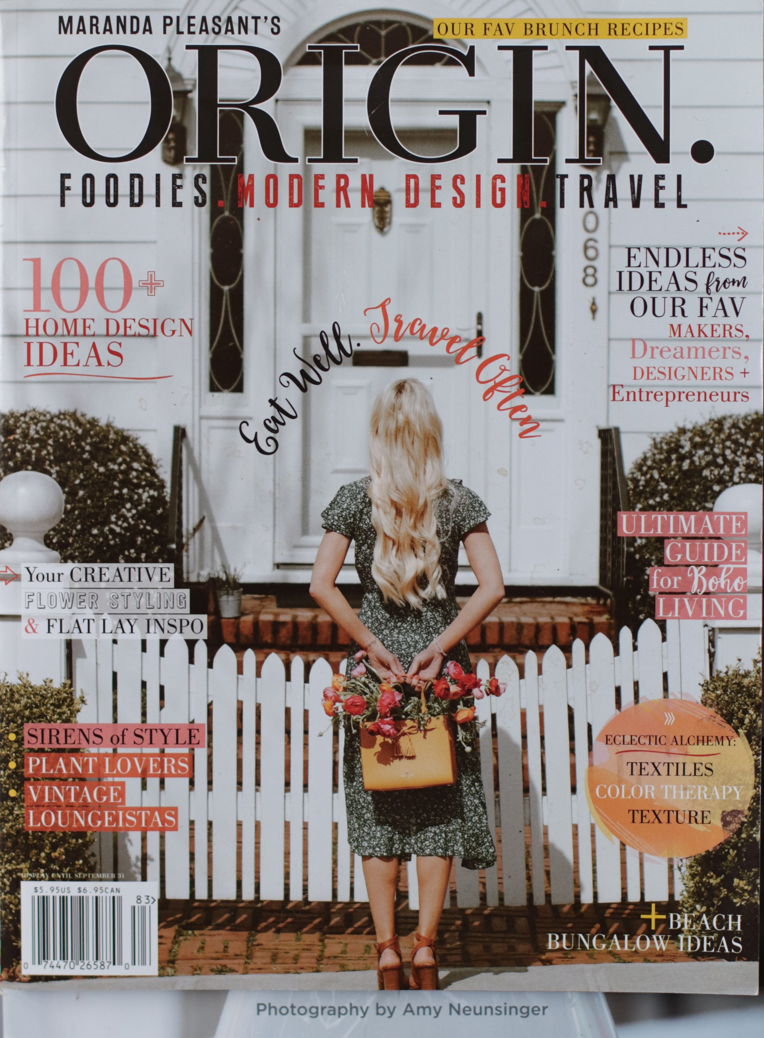 Origin Magazine USA. Summer and Bloom Edition, Summer 2018
