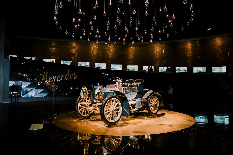 |Oldest surviving Mercedes model. 1902.|