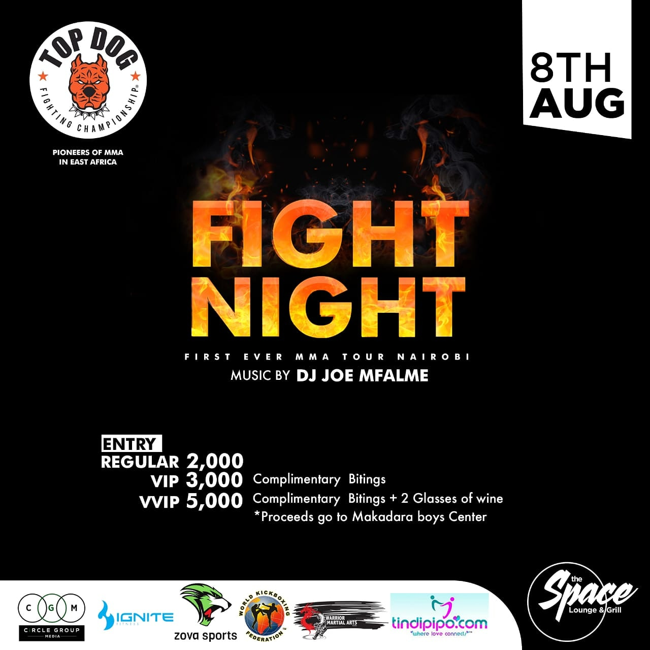 The First Ever MMA Event in East Africa - On Saturday August 8th