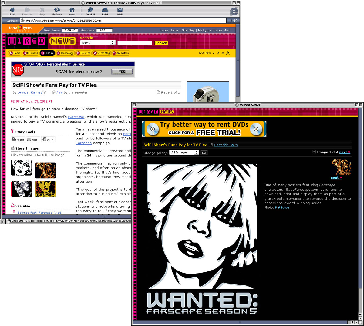 Websites Wired.com and BBC.com reported on the campaign and encouraged viewers to download the posters to spread the word.
